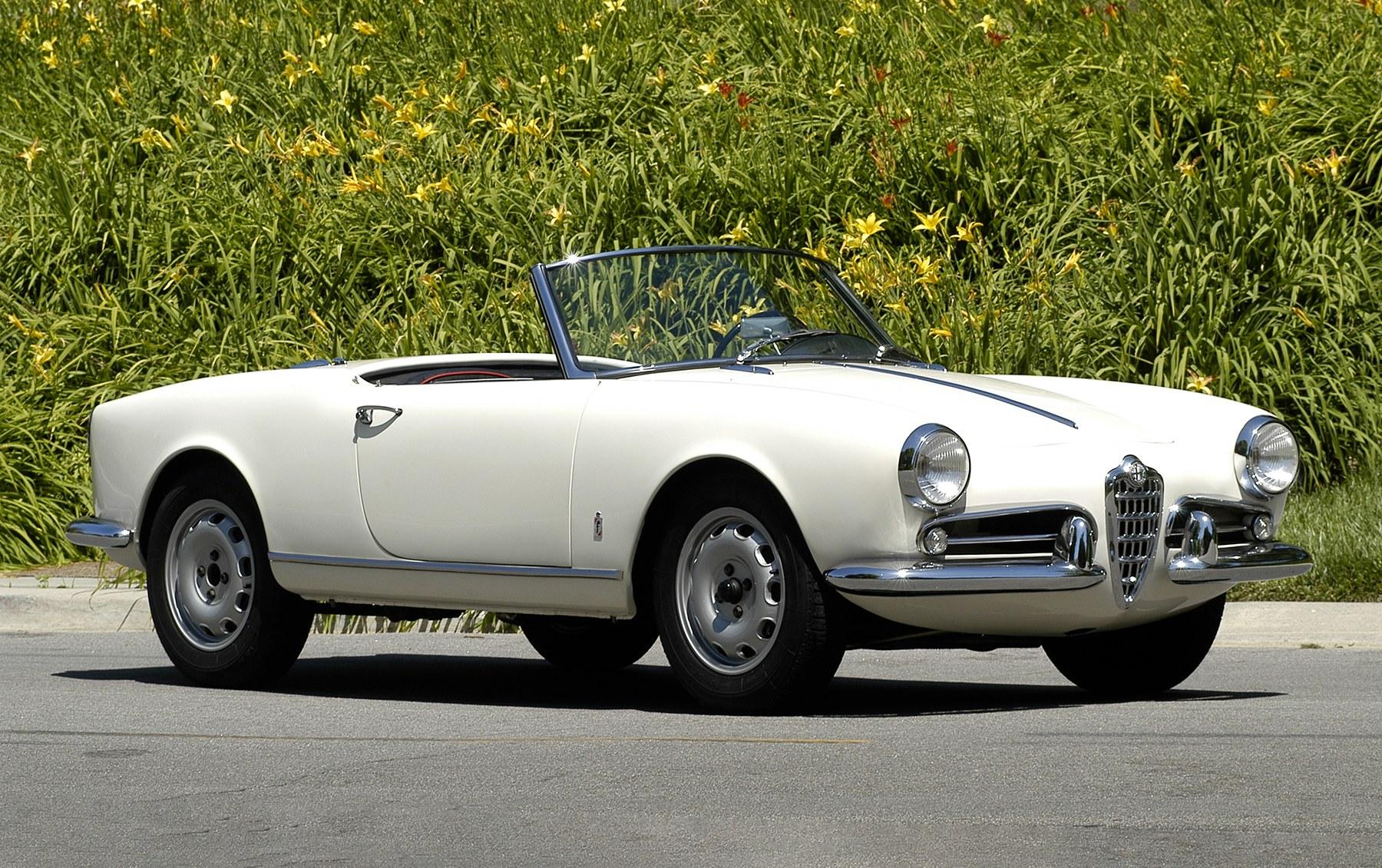 1957 Alfa Romeo Giuletta Spider Veloce