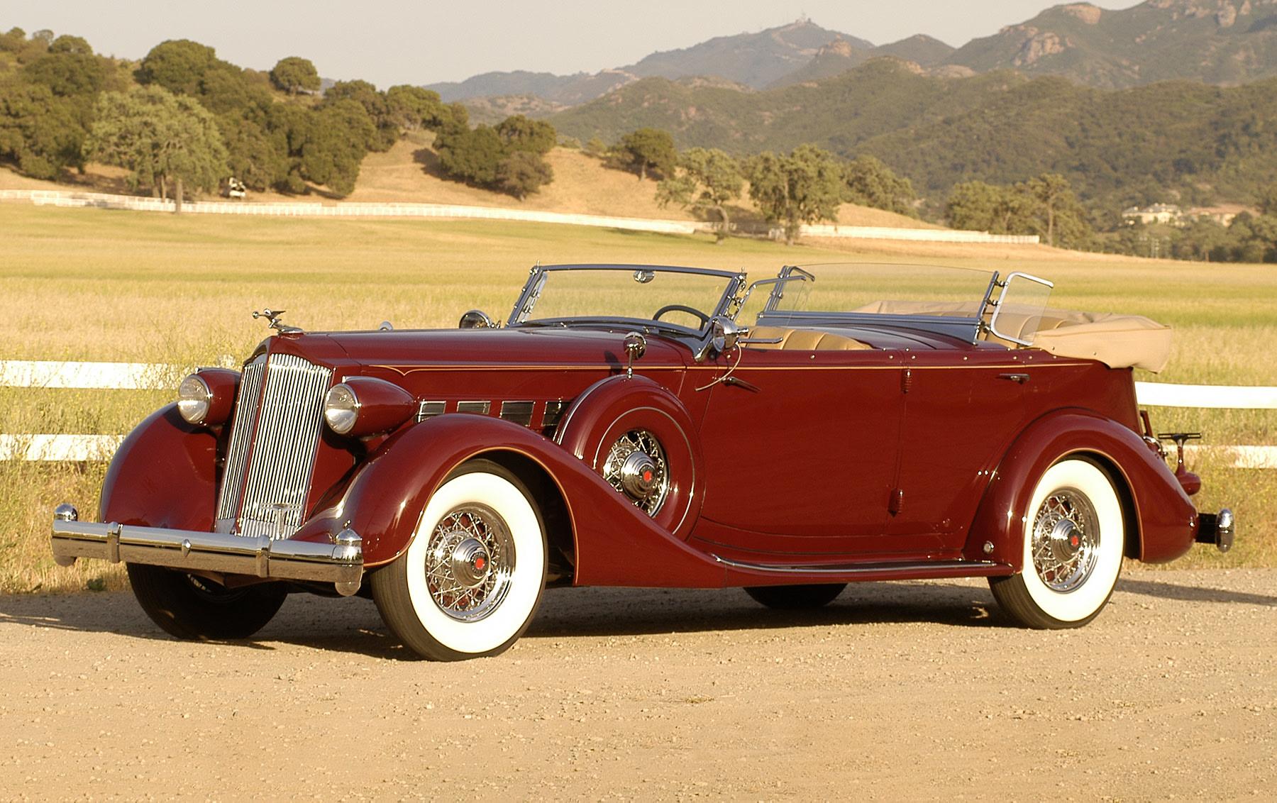 1936 Packard Super Eight Dual Cowl Sport