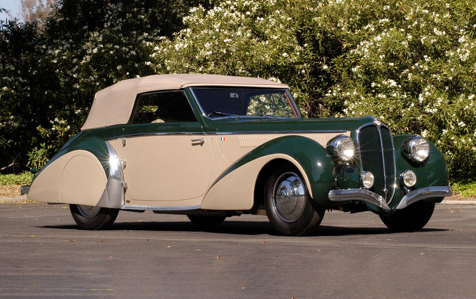 1948 Delahaye 135M Cabriolet