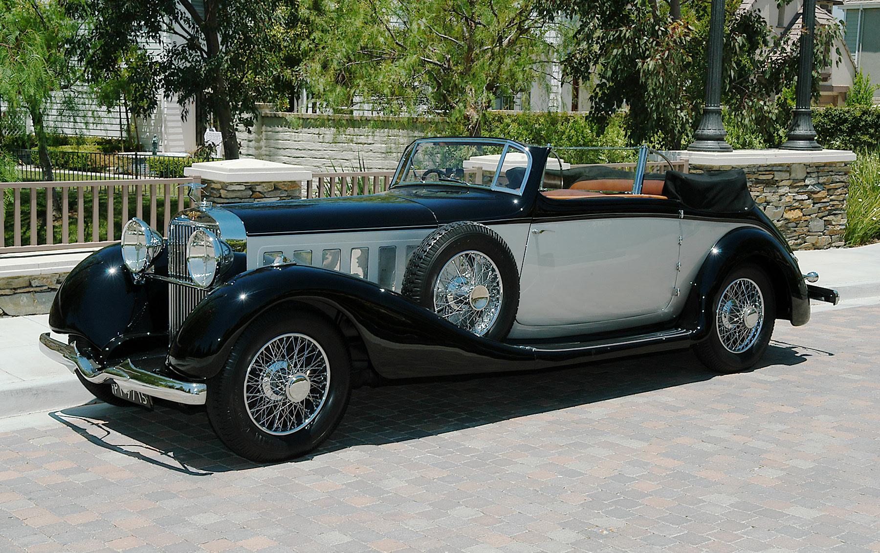 1936 Hispano-Suiza J12 Convertible Victoria-2
