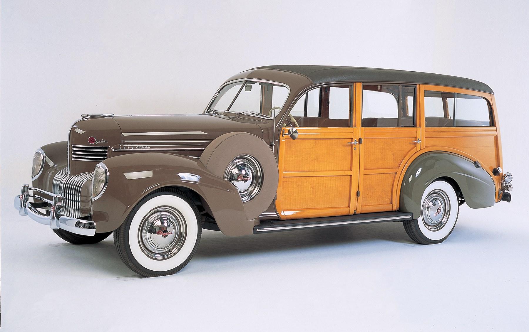 1939 Chrysler Imperial 8-Cylinder Station Wagon