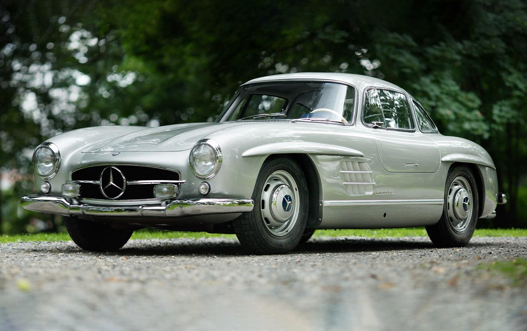 1955 Mercedes-Benz 300 SL Gullwing-11