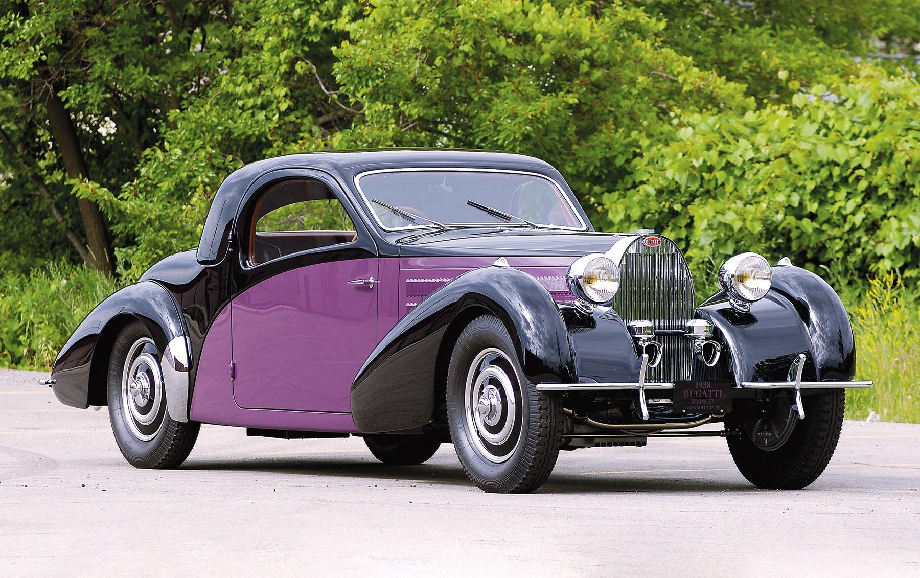 1938 Bugatti Type 57 Atalante Coupe