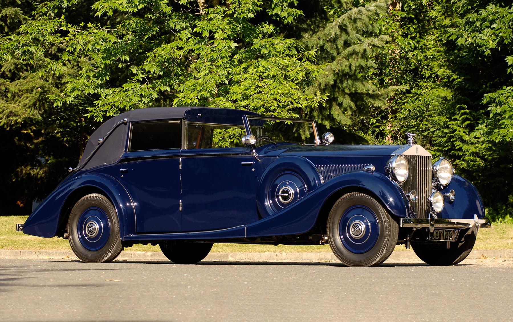 1937 Rolls-Royce Phantom III Four-Door Cabriolet