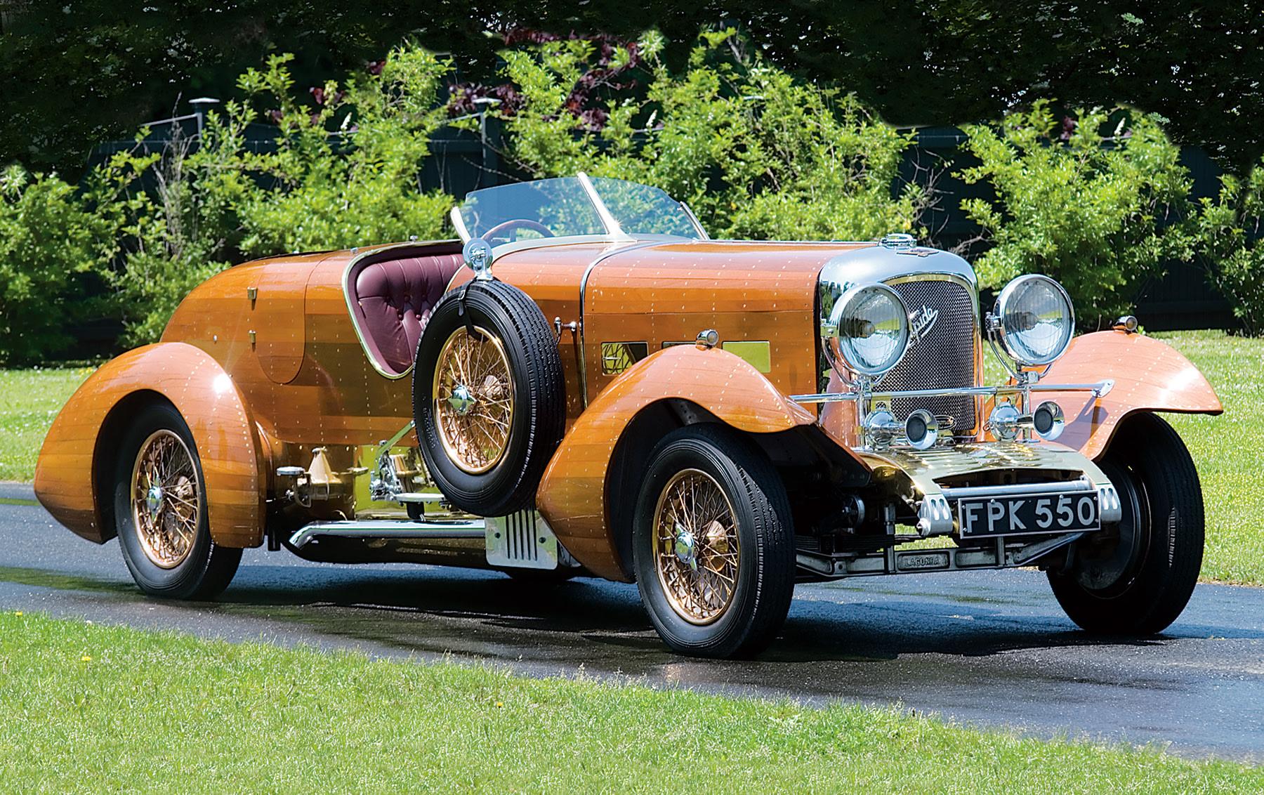 1939 Lagonda Rapide V-12 Tulipwood Tourer