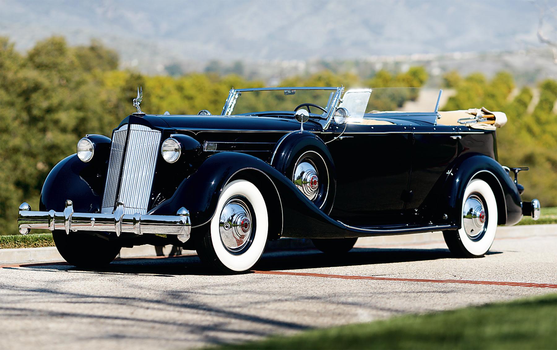 1936 Packard Model 1407 Dual Cowl Phaeton