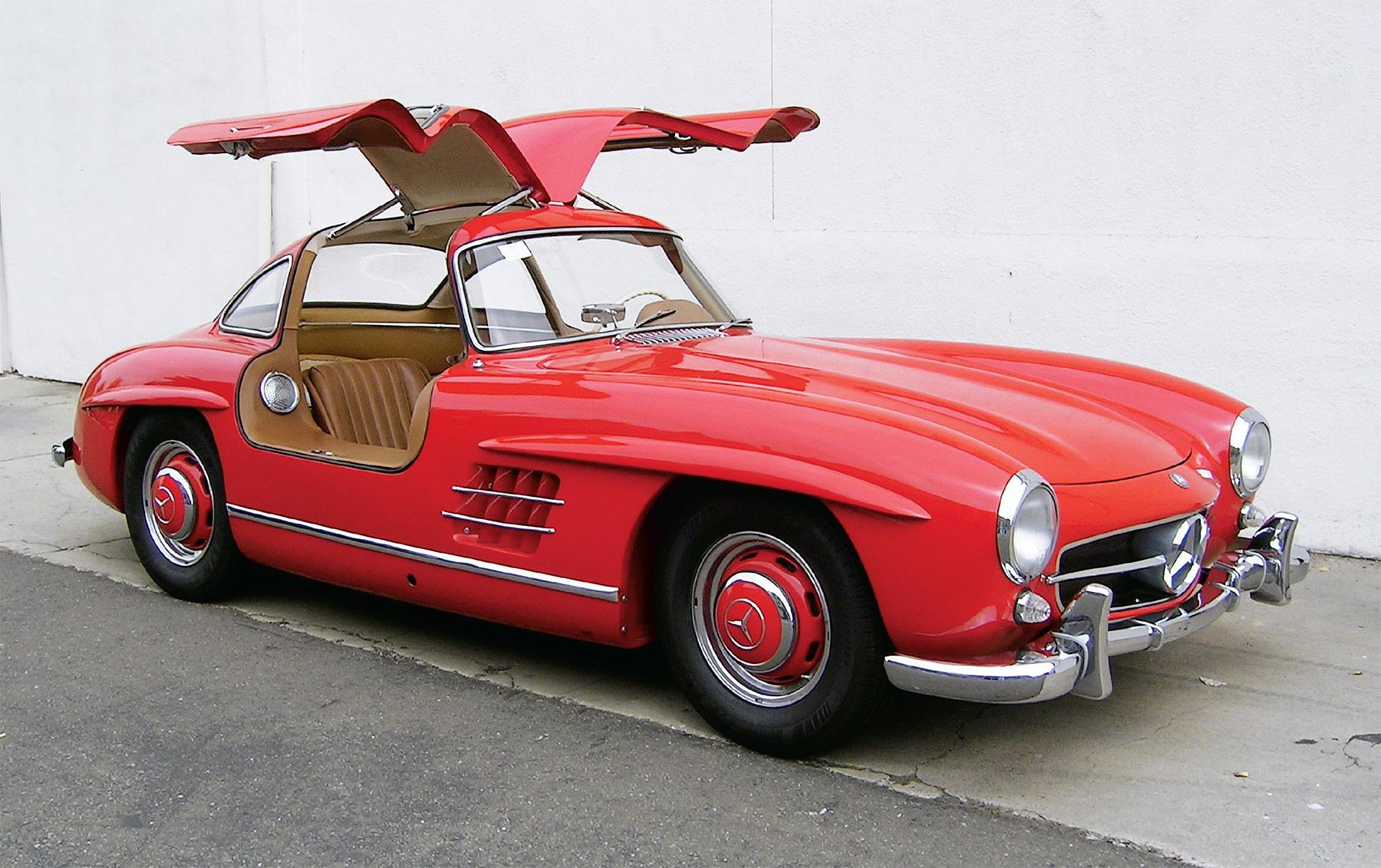 1956 Mercedes-Benz 300 SL Gullwing-6