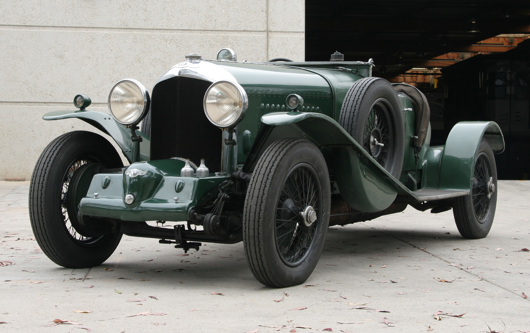 1931 Bentley 4 1/2-Litre Supercharged 2/3-Seater Boat Tail Roadster