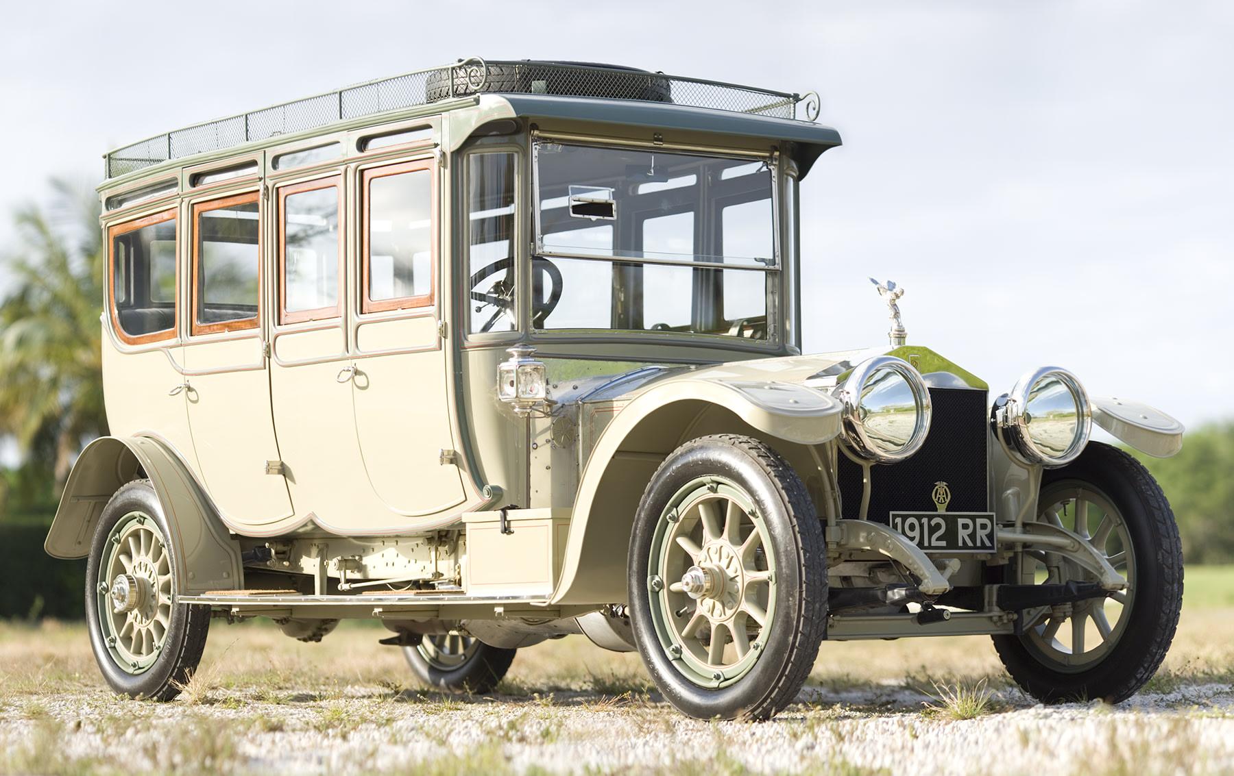 1912 Rolls-Royce 40/50 HP Silver Ghost Double Pullman Limousine