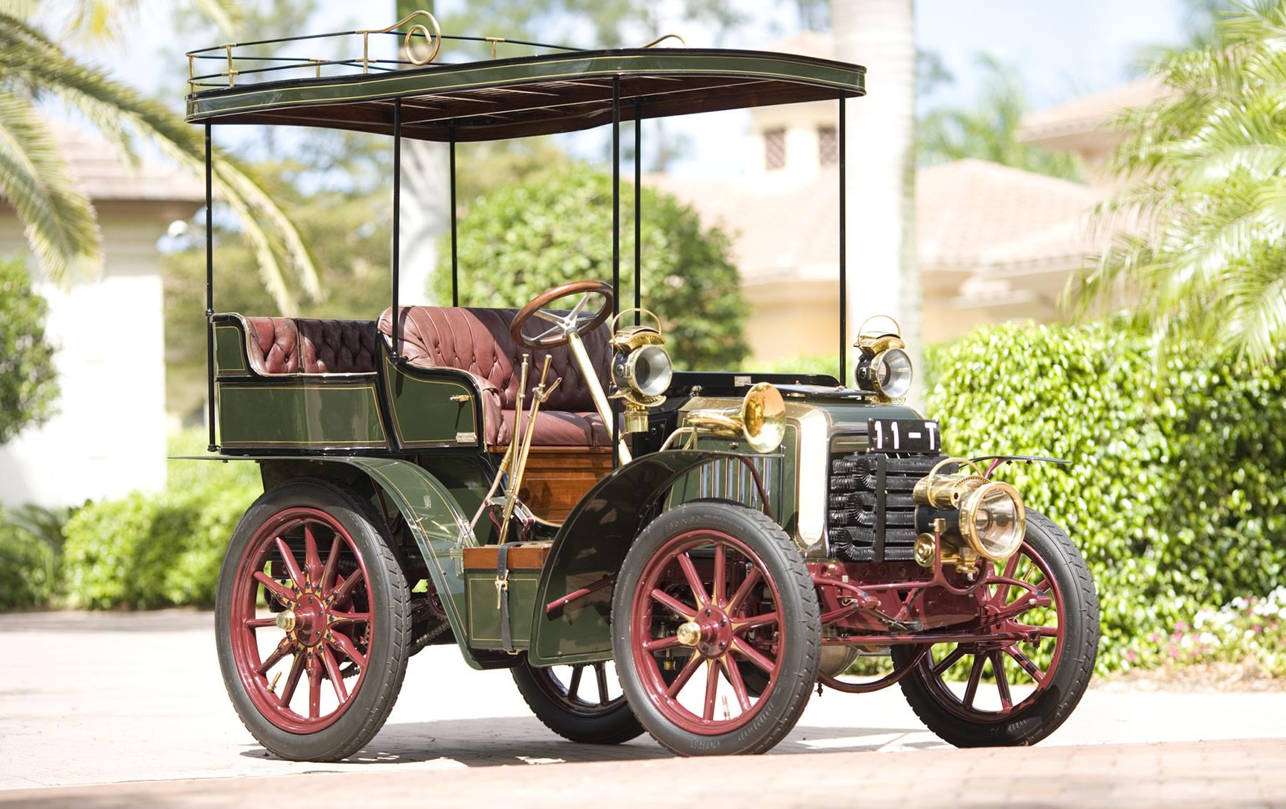 1901 Panhard Et Lavassor Rear-Entrance Tonneau