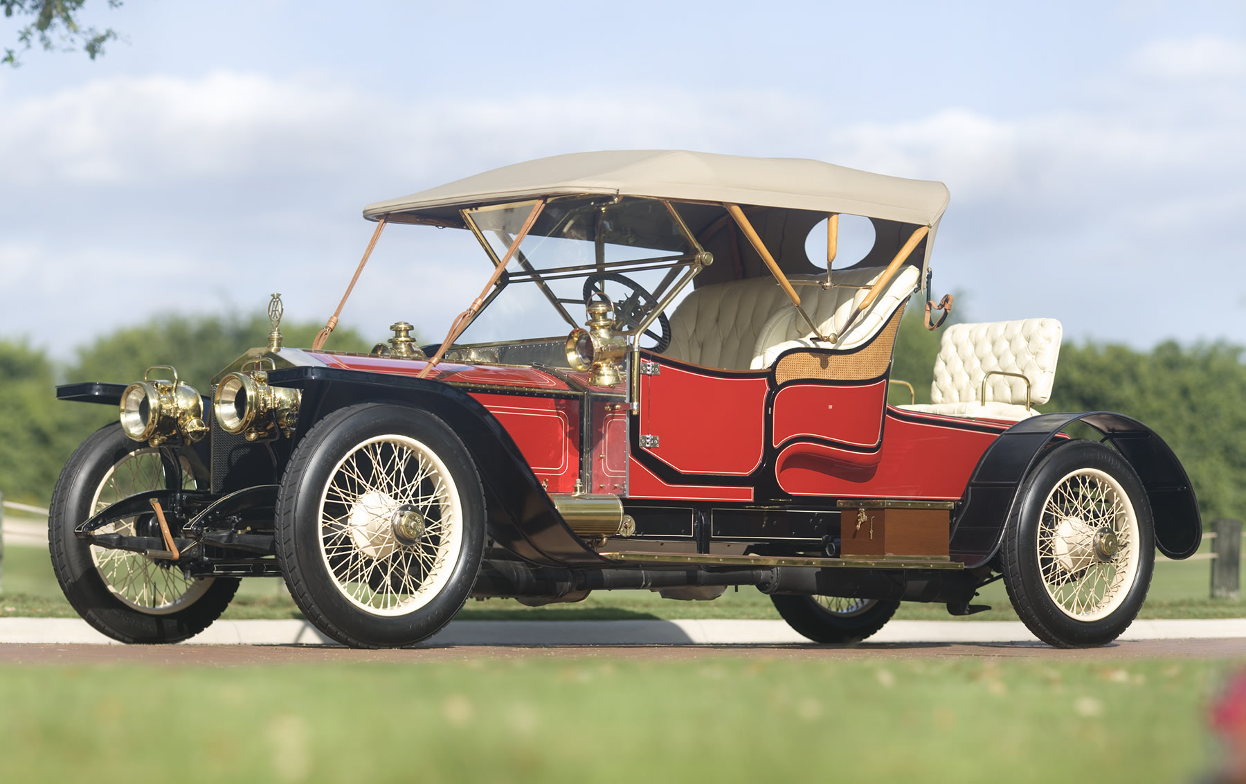 1910 Rolls-Royce 40/50 HP Silver Ghost Balloon Car