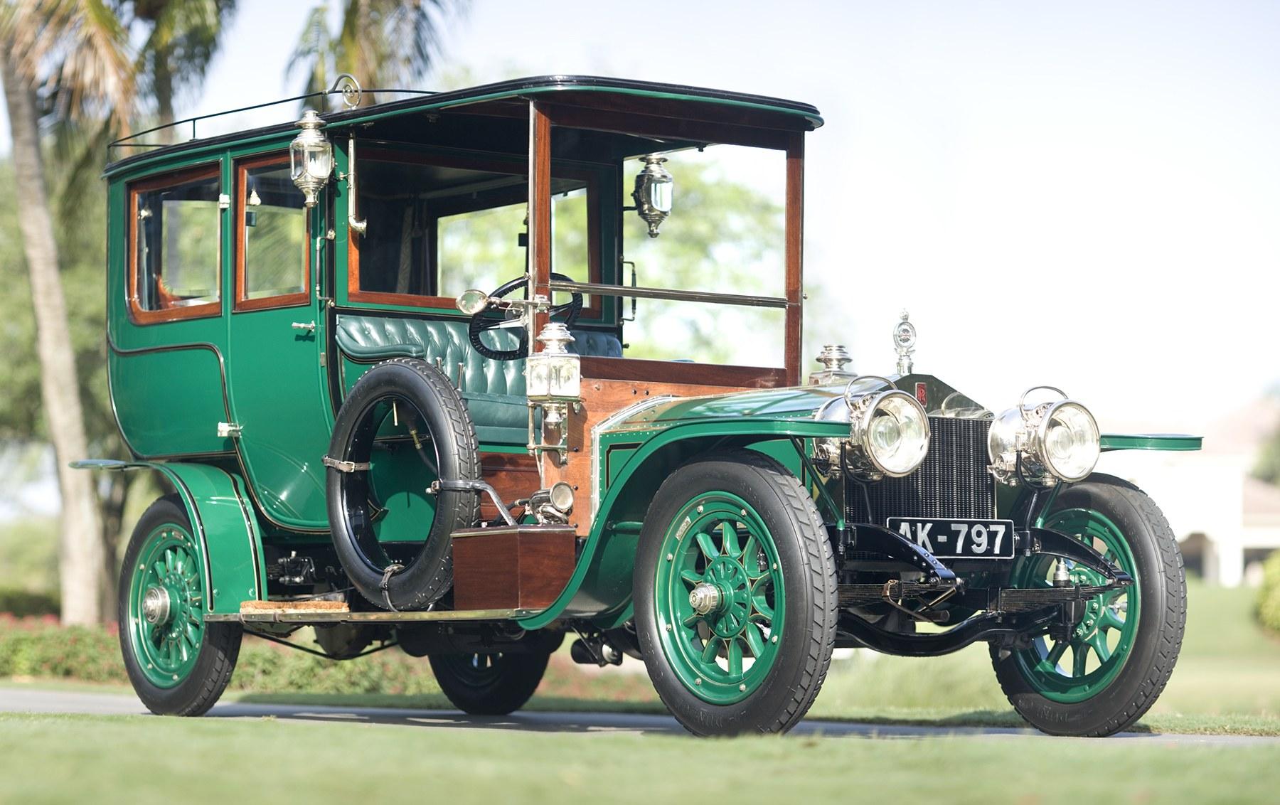 1907 Rolls-Royce 40/50 HP Silver Ghost Limousine