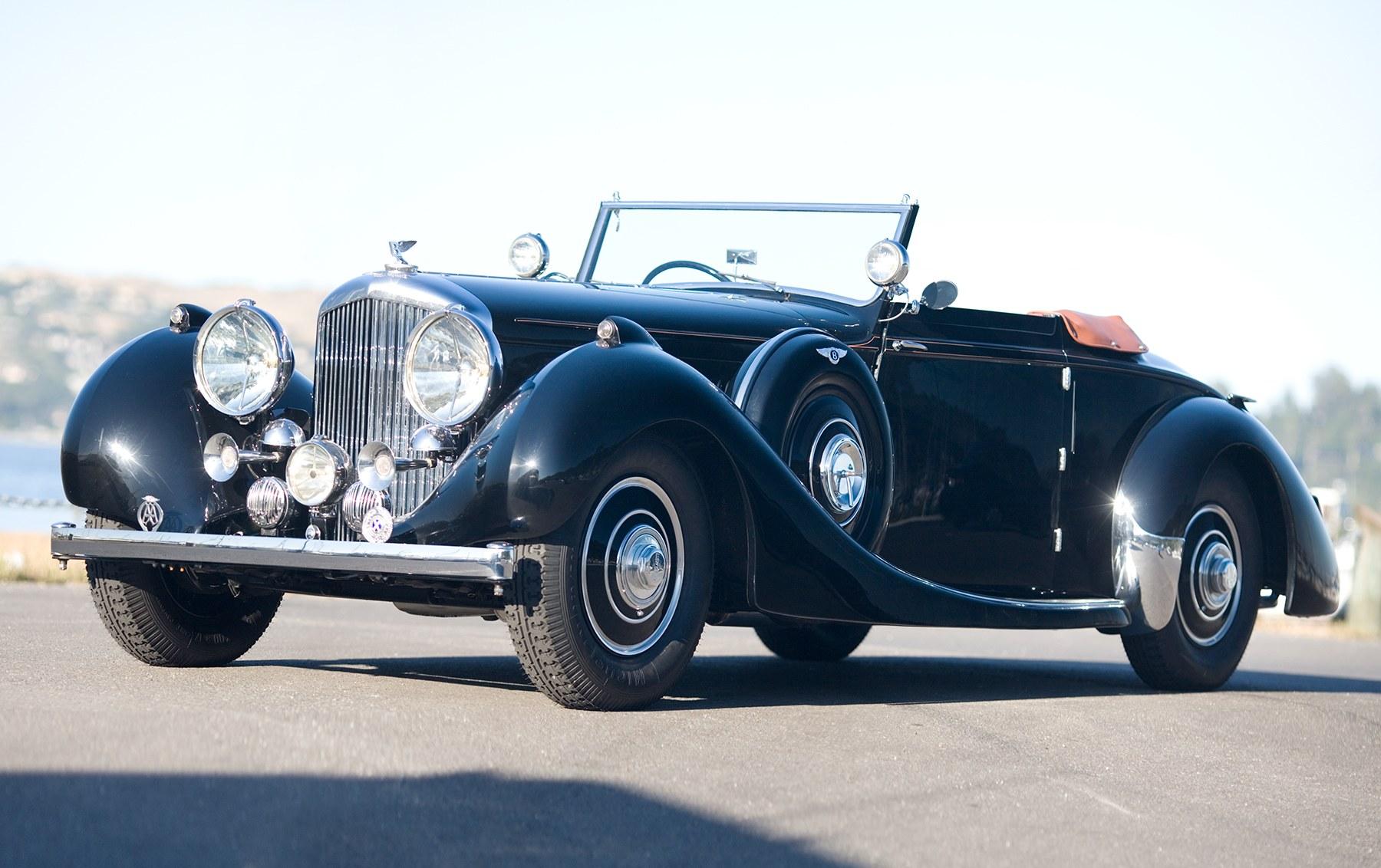 1940 Bentley 4 1/4-Liter Carlton Drophead Coupe