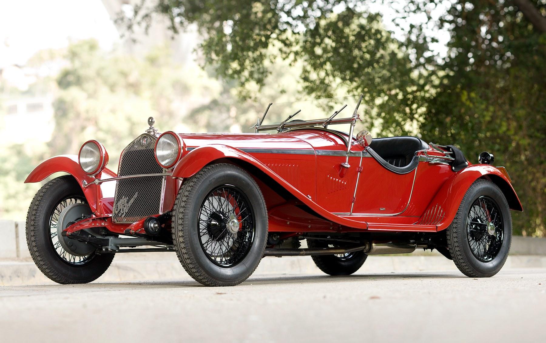 1930 Alfa Romeo 6C 1750 Series IV Gran Sport Spider