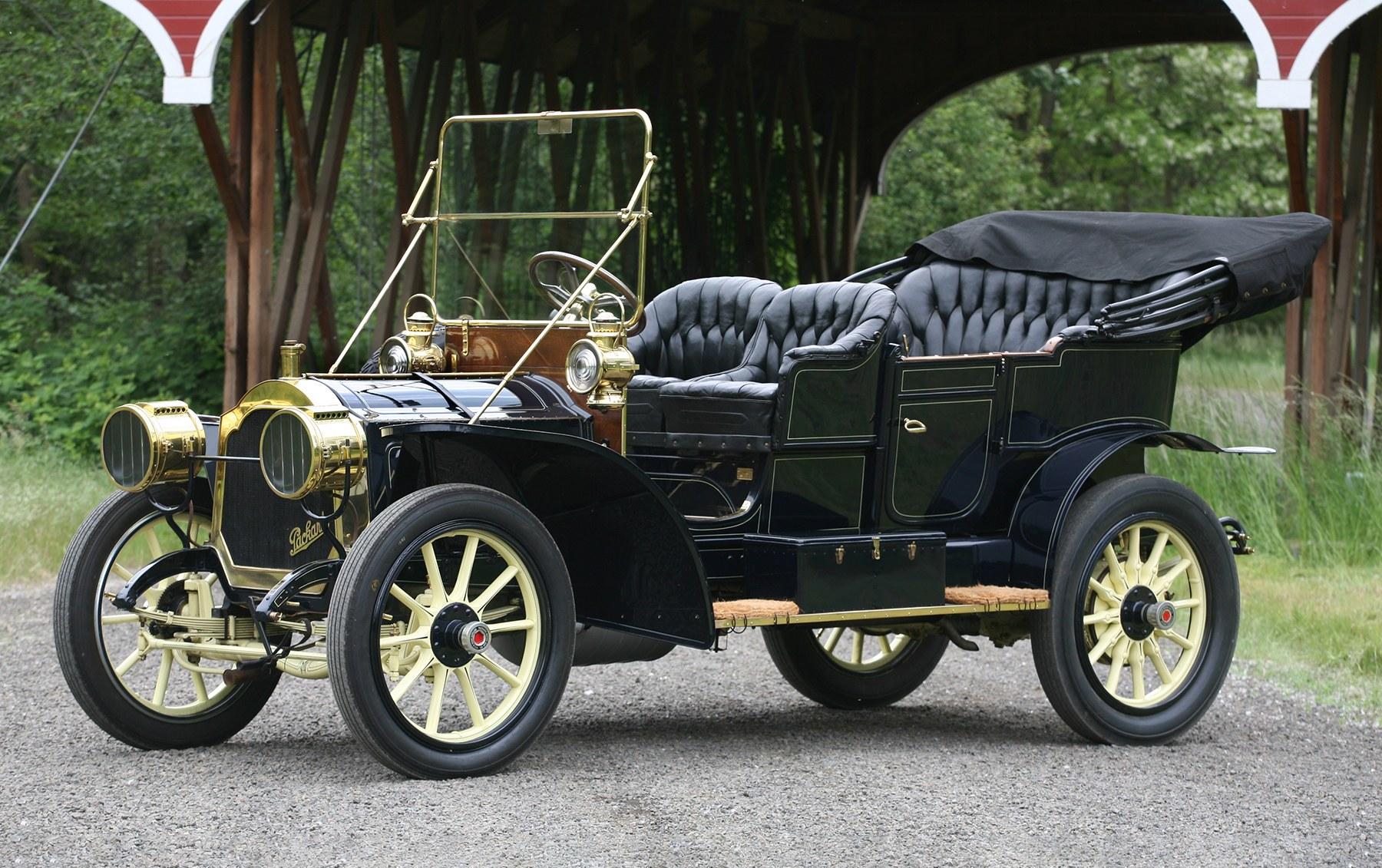 1908 Packard Model 30 Touring Car