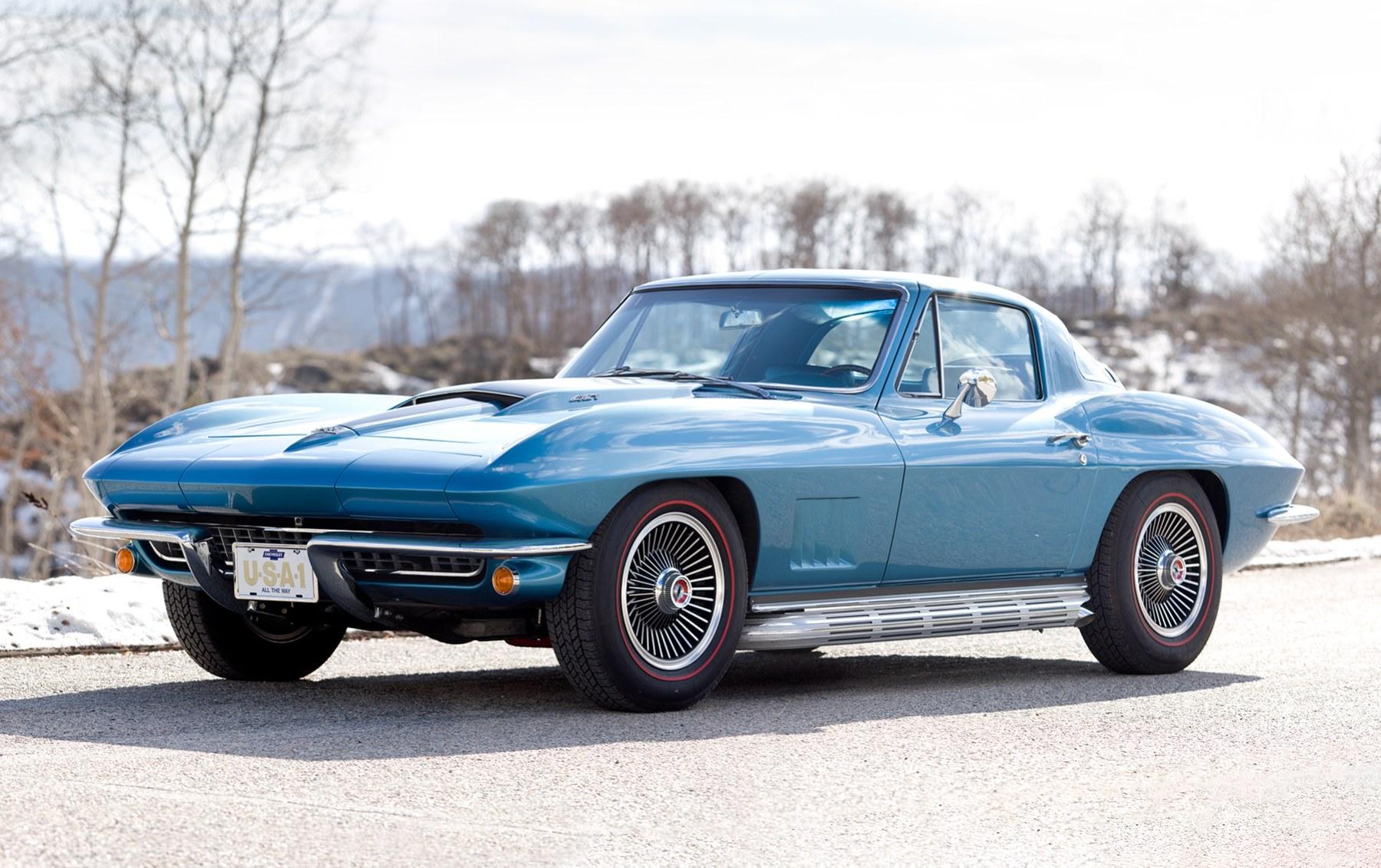 1967 Chevrolet Corvette 427/435 Coupe-2