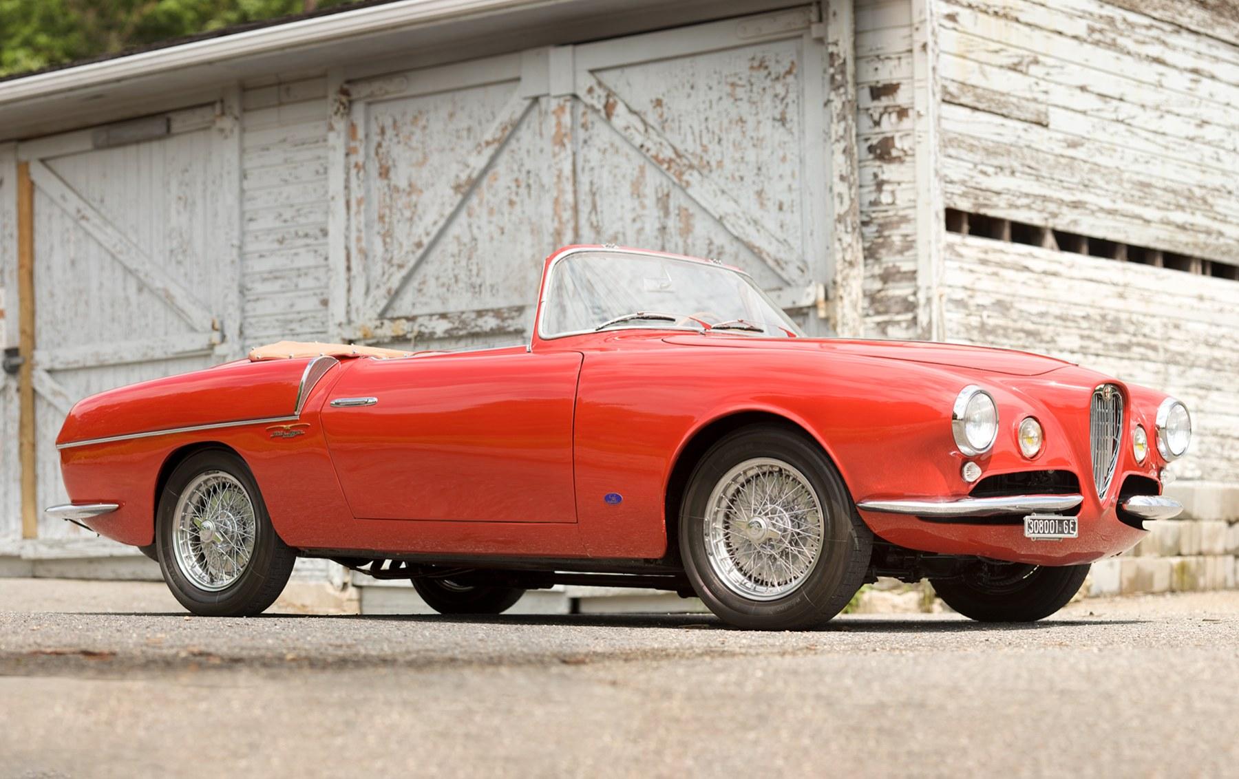 1955 Alfa Romeo 1900 Super Sprint Cabriolet
