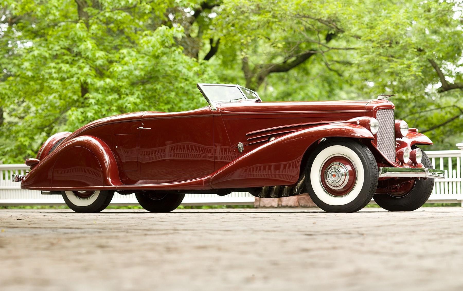 1935 Duesenberg Model SJ Roadster