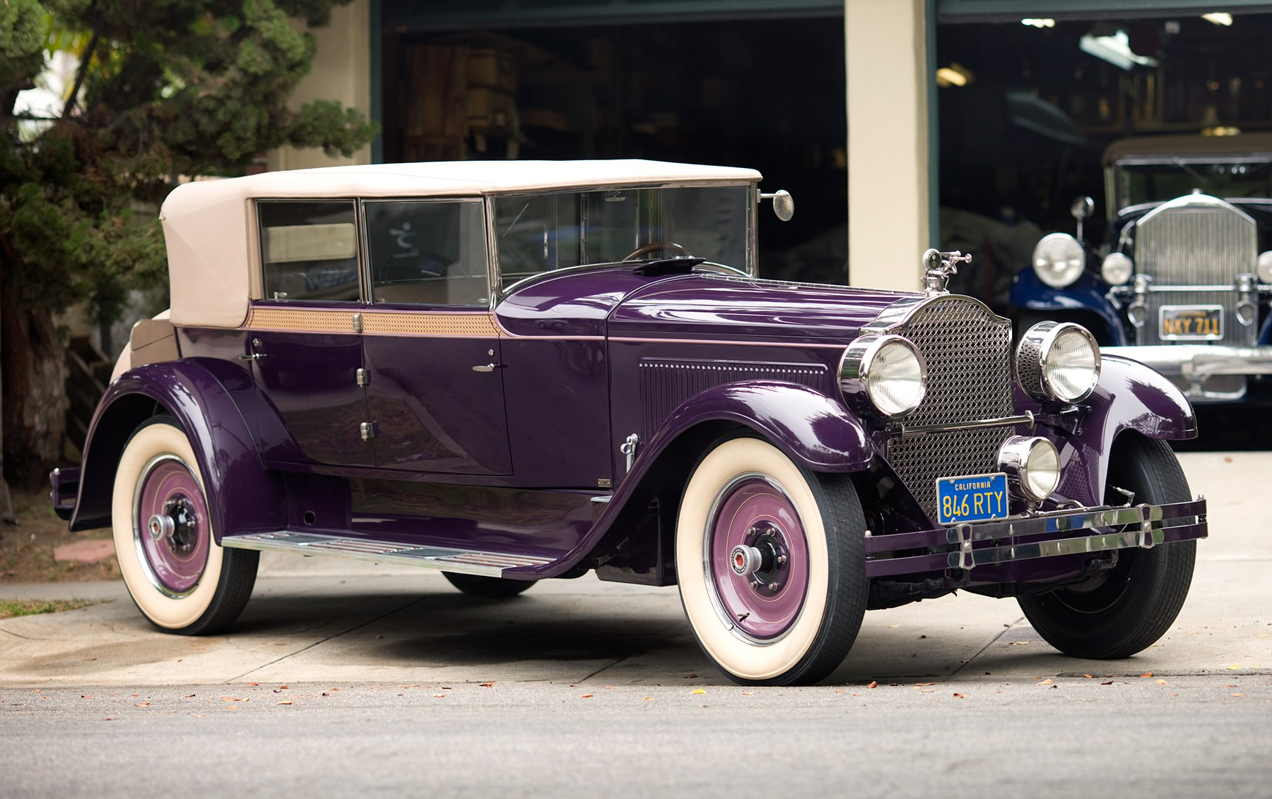 1927 Packard 343 Convertible Sedan