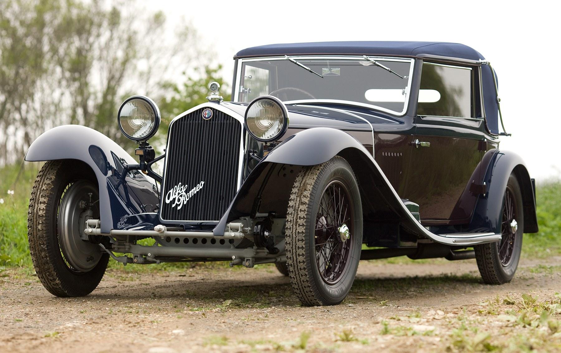 1933 Alfa Romeo 8C 2300 Drop Head Coupe