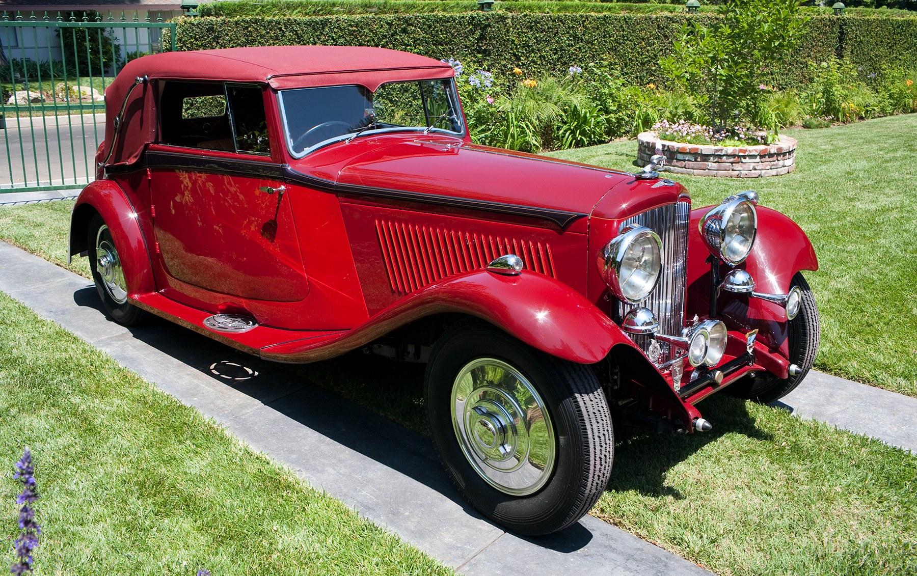 1934 Bentley 3 1/2-Litre Drop Head Coupe