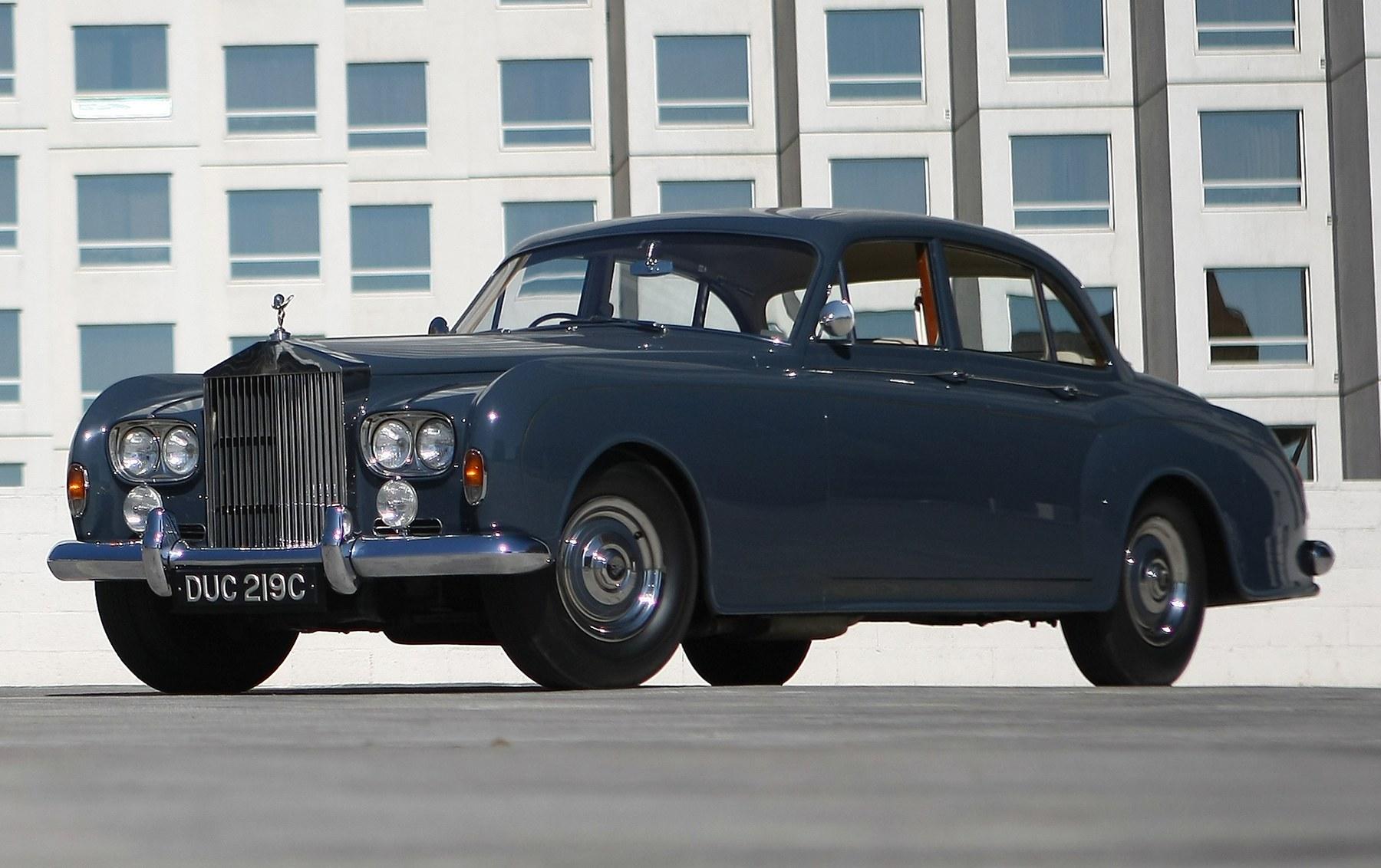 1965 Rolls Royce Silver Cloud III Four-Door Saloon