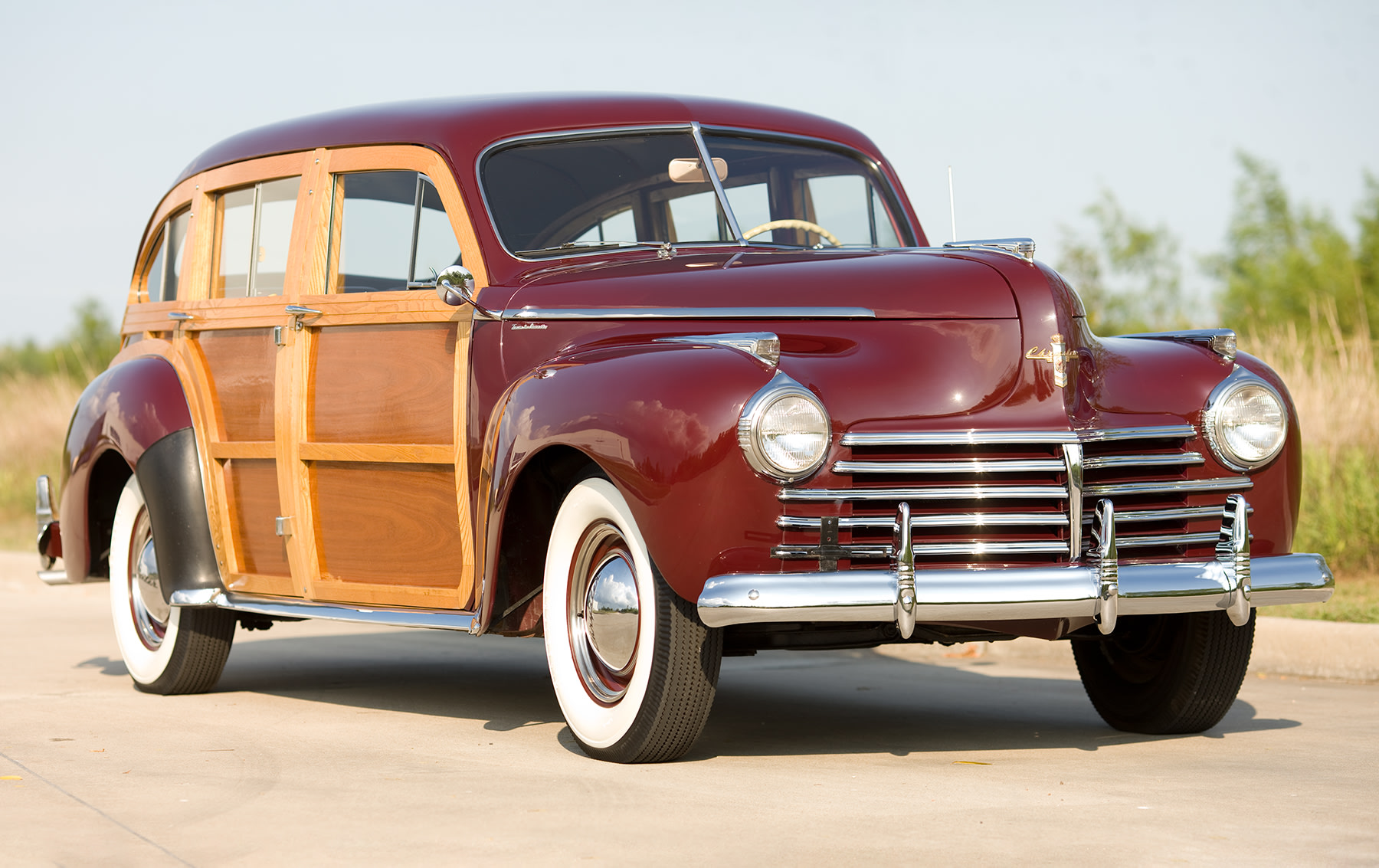 1941 Chrysler Town & Country Barrel-Back Station Wagon