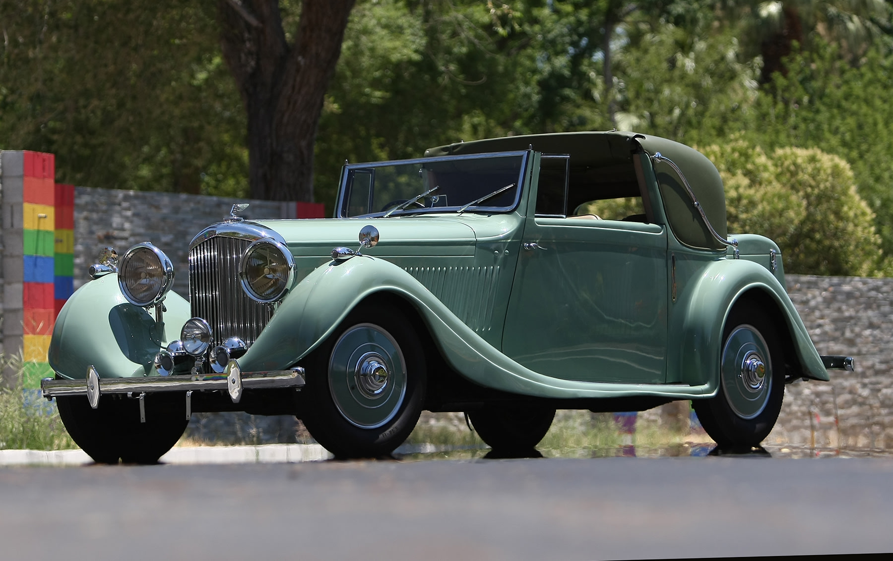 1936 Bentley 4 1/4-Litre Sedanca Coupe