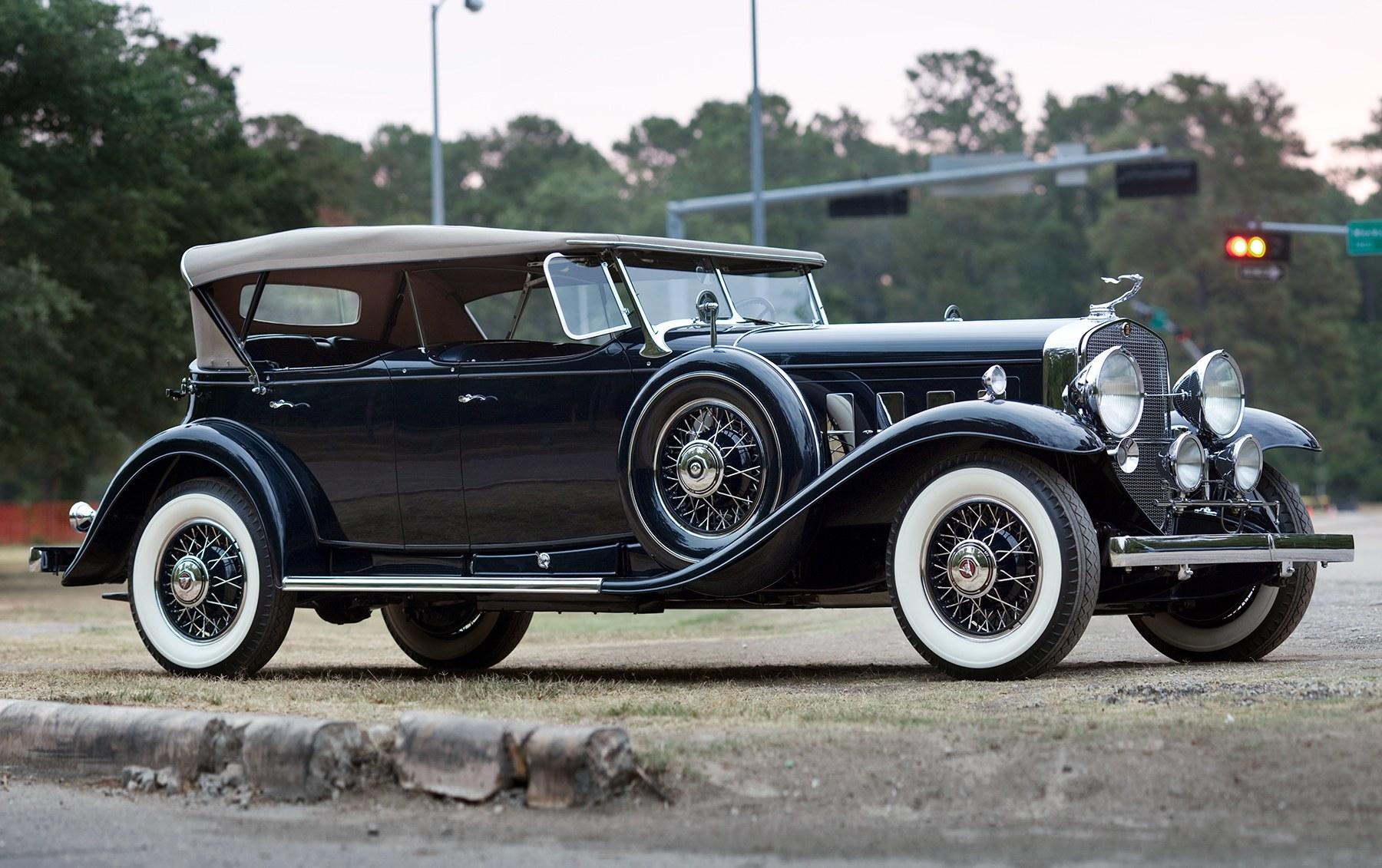 1931 Cadillac 452A V-16 Sport Phaeton-2