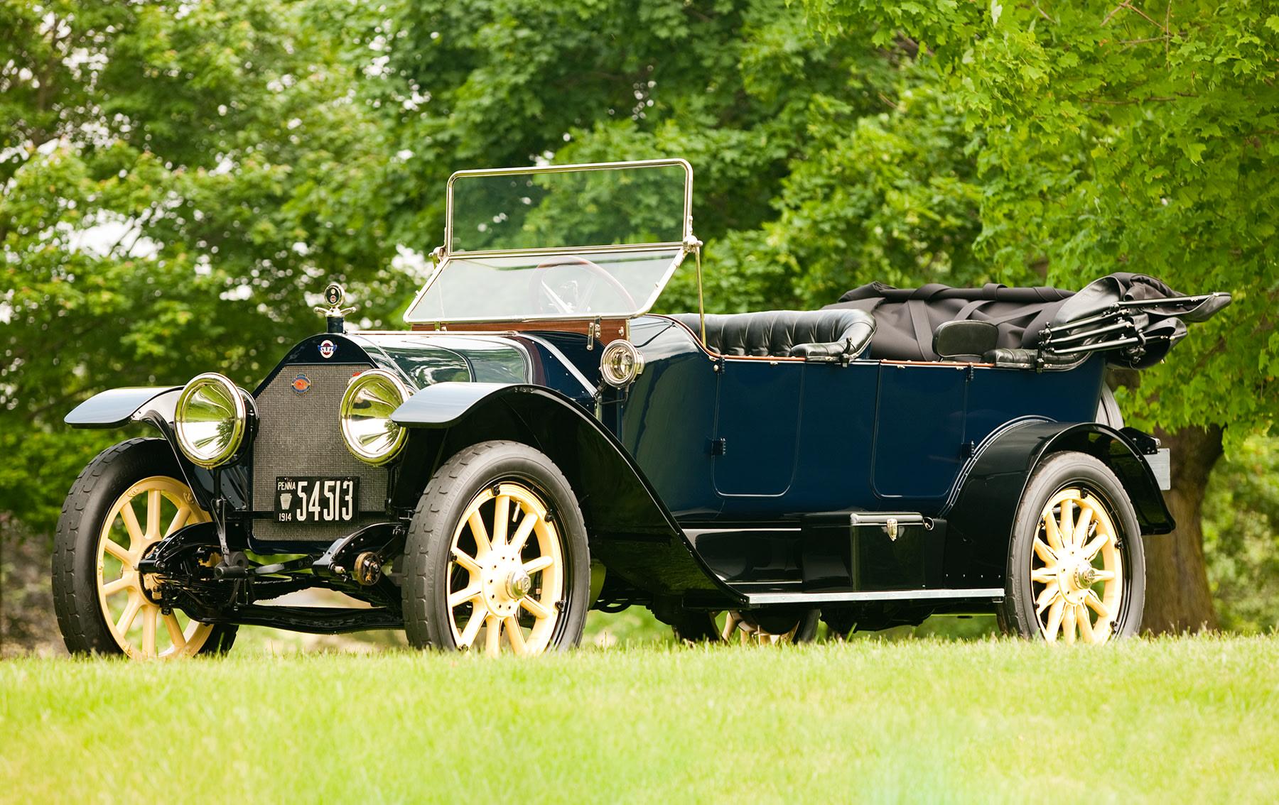 1914 Stutz Model 4E Touring Car