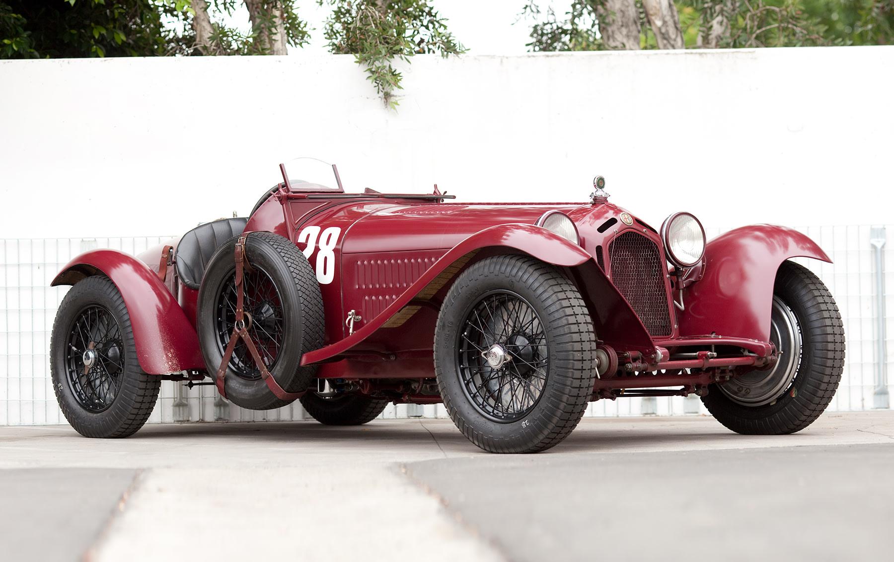 1933 Alfa Romeo 8C 2300 Monza (1)