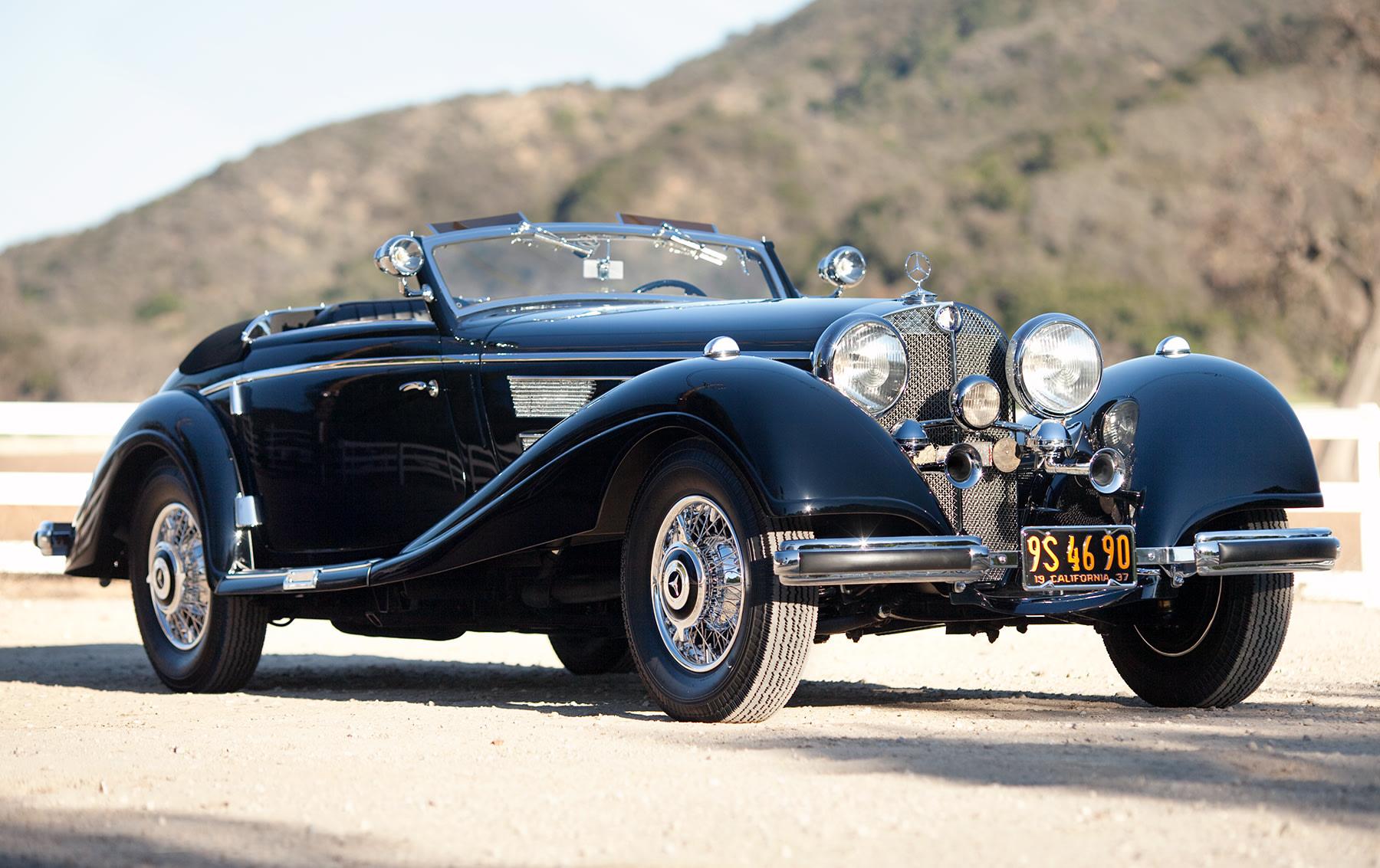 1937 Mercedes-Benz 540K Sport Cabriolet A