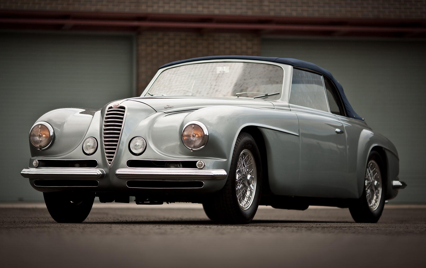 1952 Alfa Romeo 6C 2500 Villa d'Este Cabriolet
