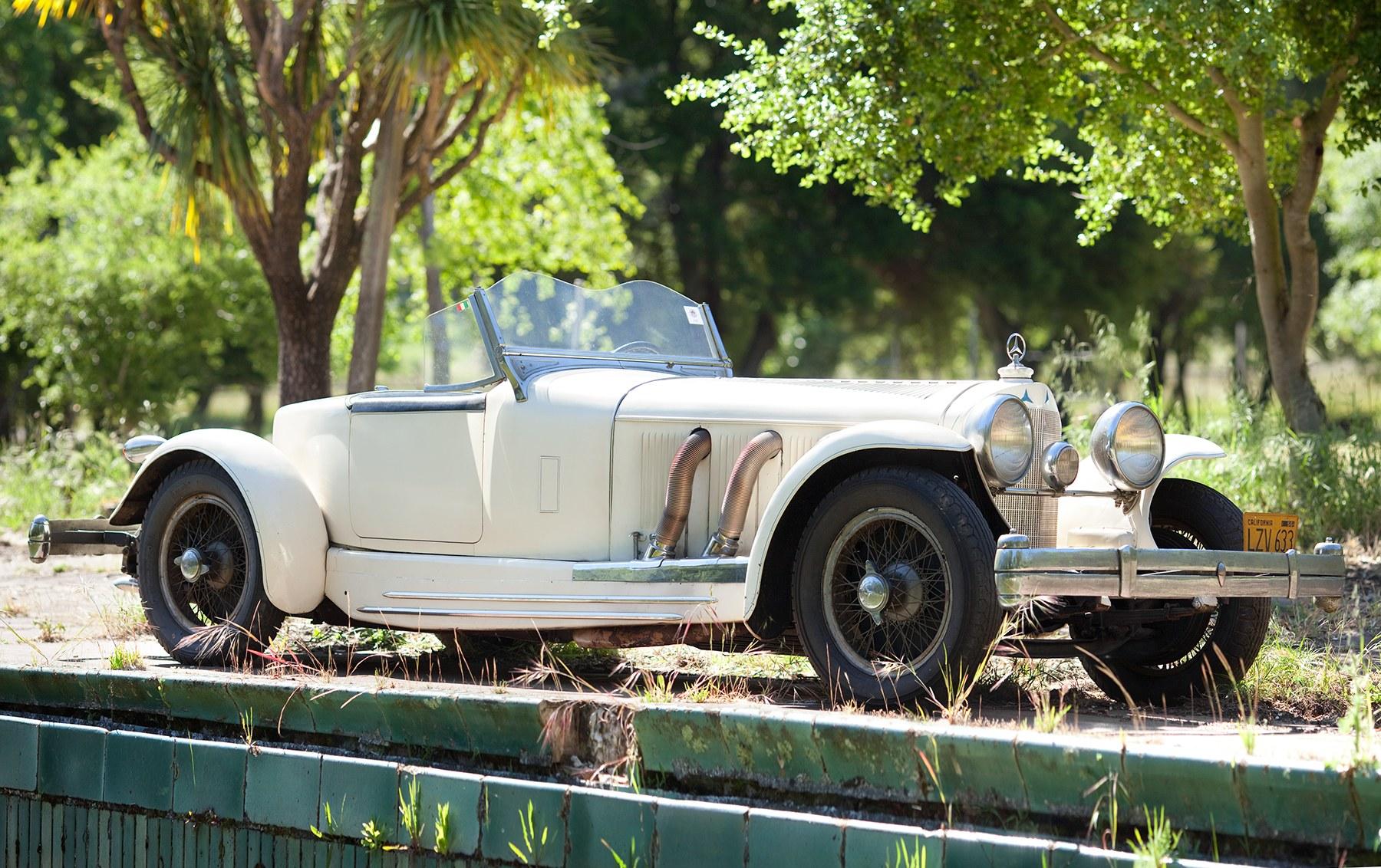 1928 Mercedes-Benz S 26/180 Boattail Speedster