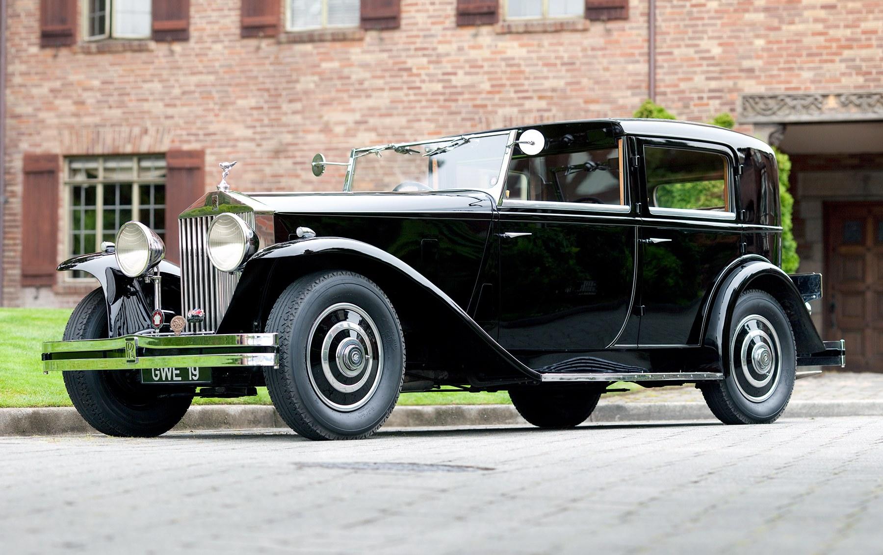 1934 Rolls-Royce 20/25 Town Car