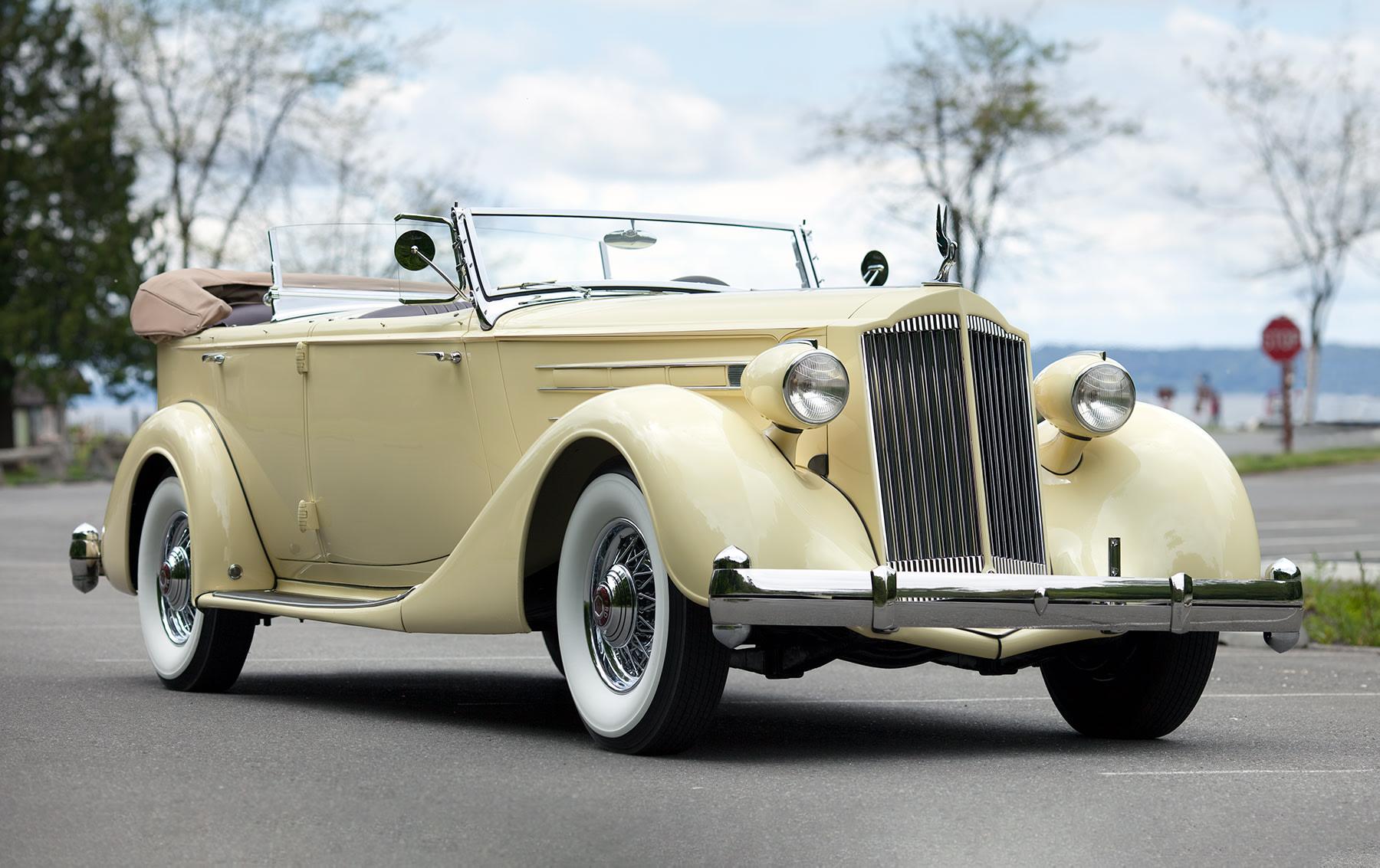 1936 Packard Twelve Dual Cowl Model 1407 Phaeton