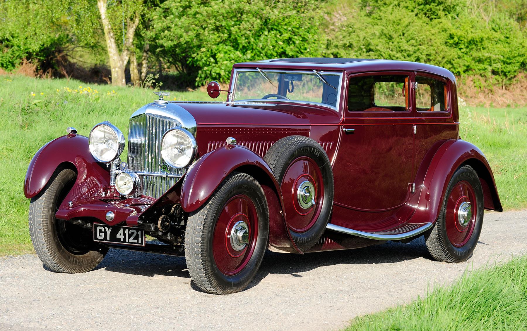 1931 Bentley 8 Litre Sportsman's Coupe