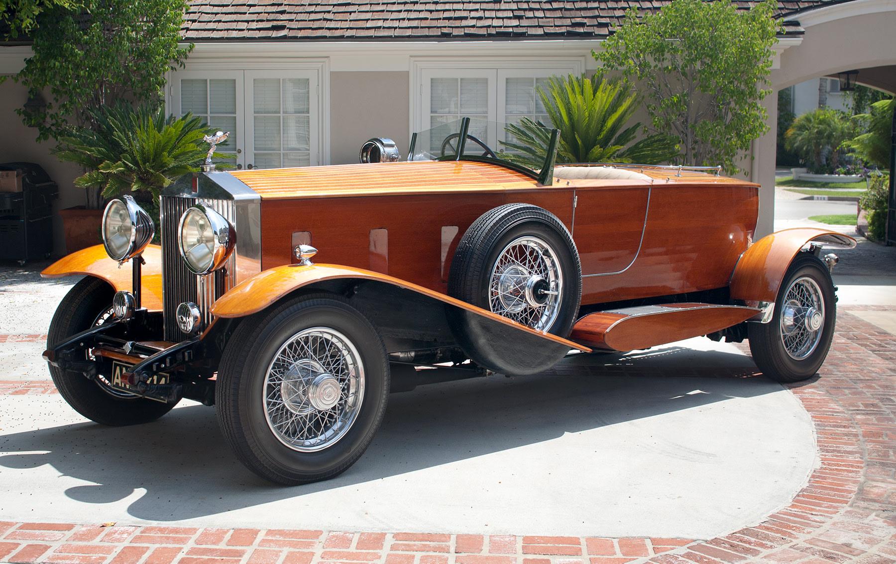 1933 Rolls-Royce Phantom II Skiff-Bodied Roadster