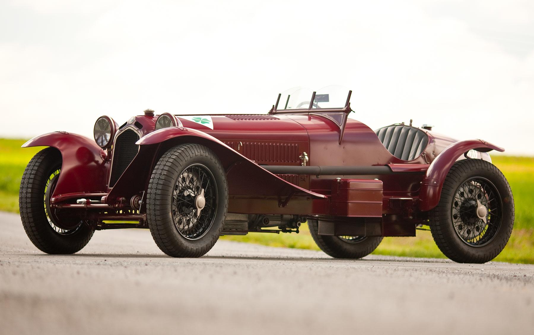 "1934 Alfa Romeo 6C 2300 Pescara ""Monza"""