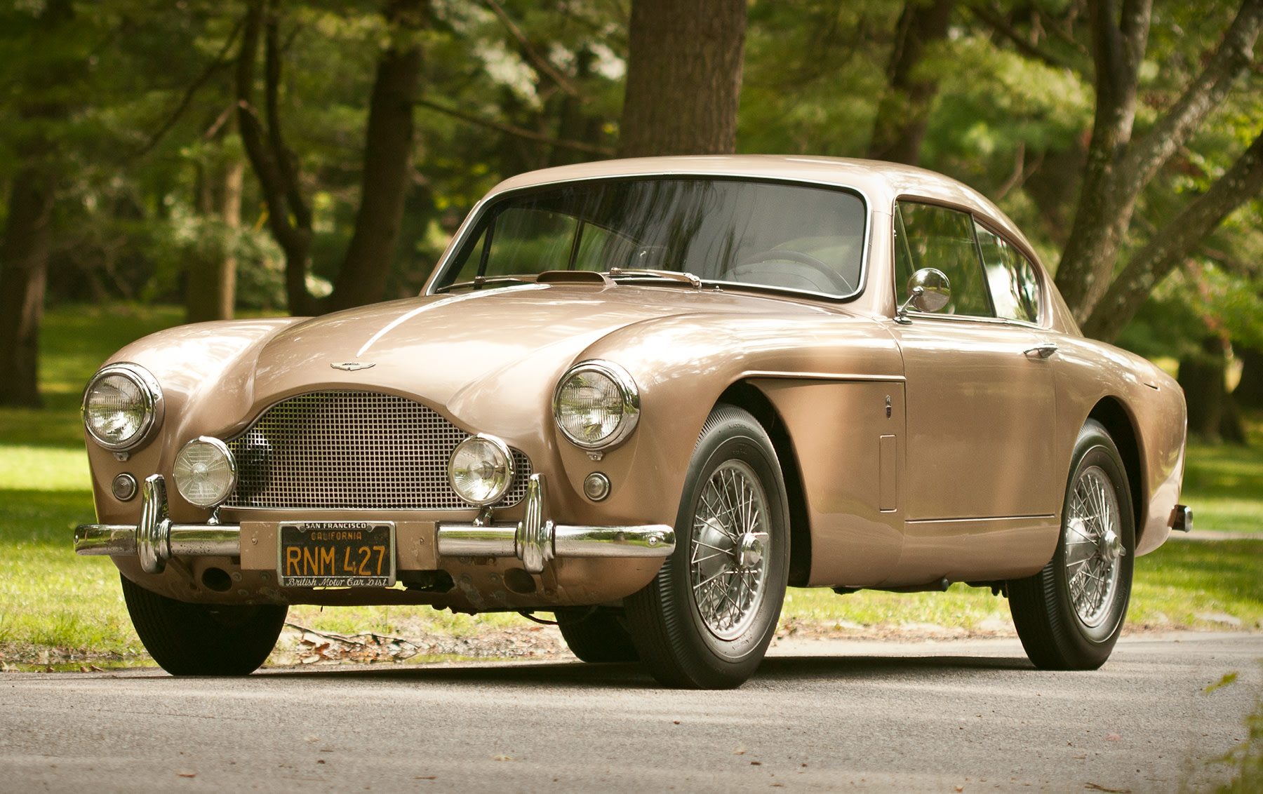 1958 Aston Martin DB Mark III Saloon-2