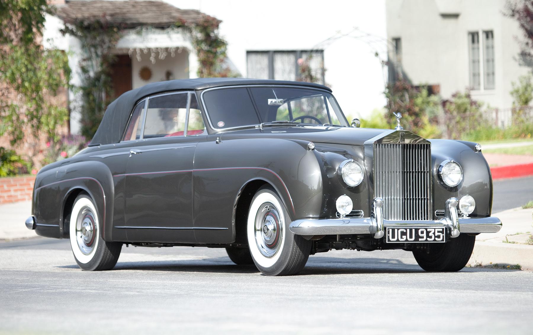 1958 Rolls-Royce Silver Cloud I Drop Head Coupe