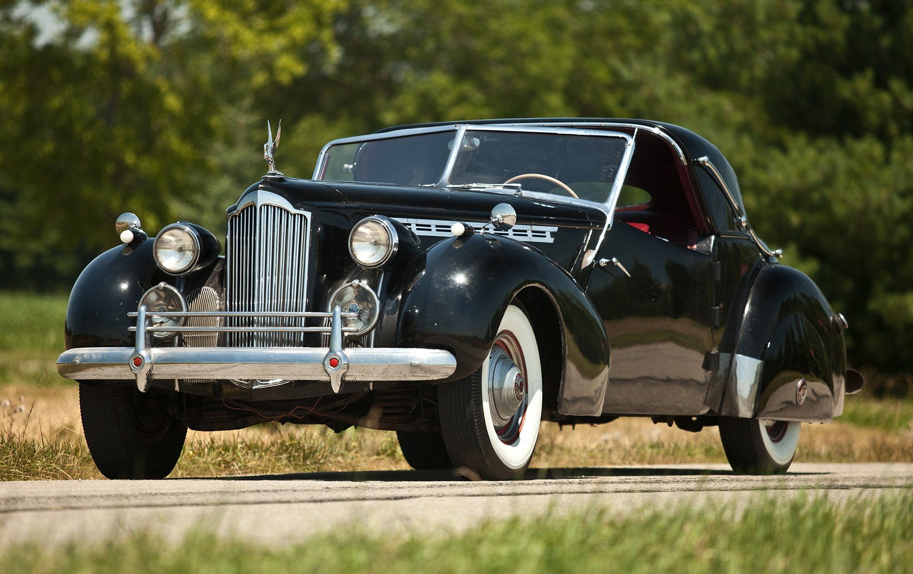 1940 Packard Model 1806 Towne Coupe