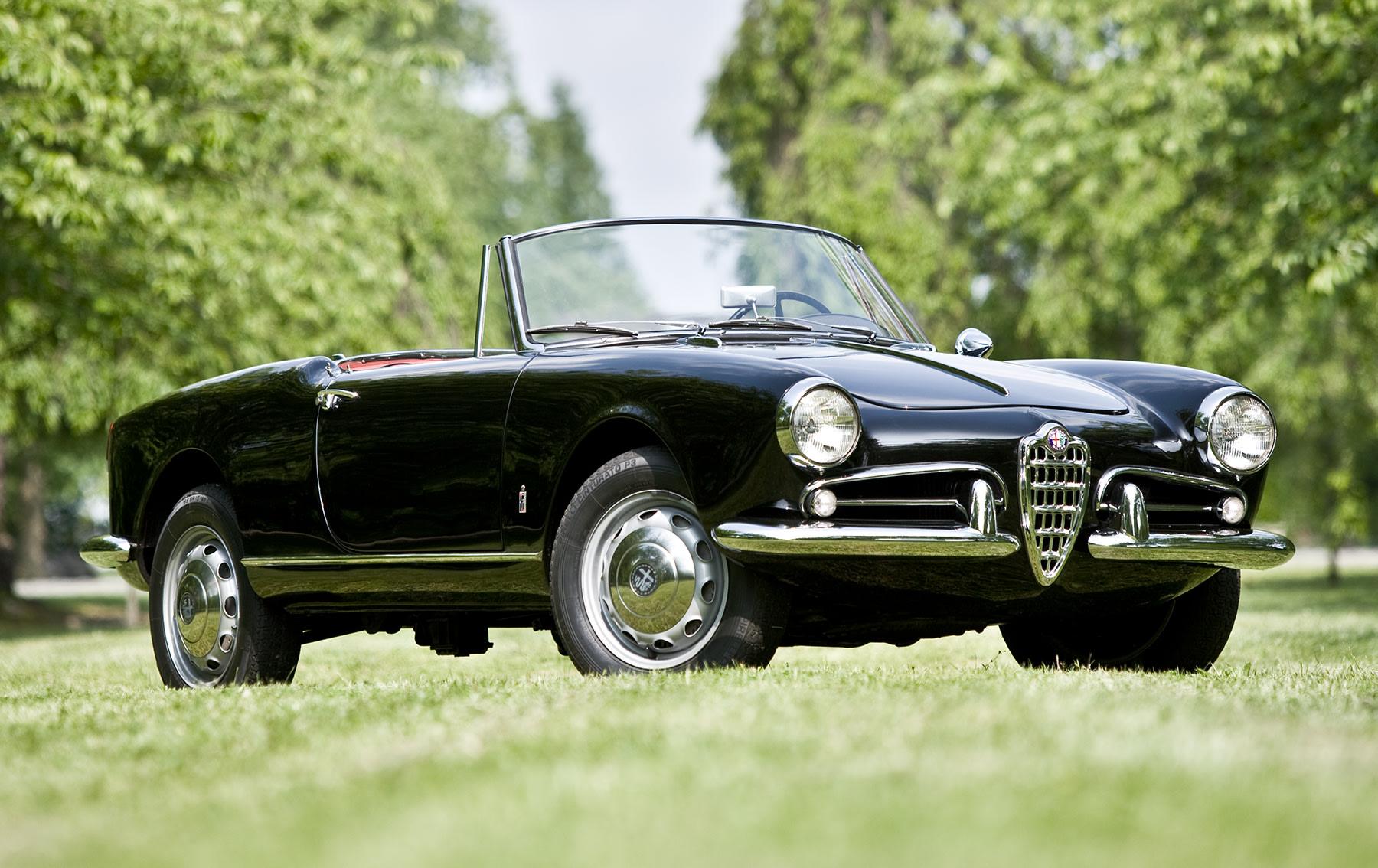 1960 Alfa Romeo Giulietta Spider Veloce-1