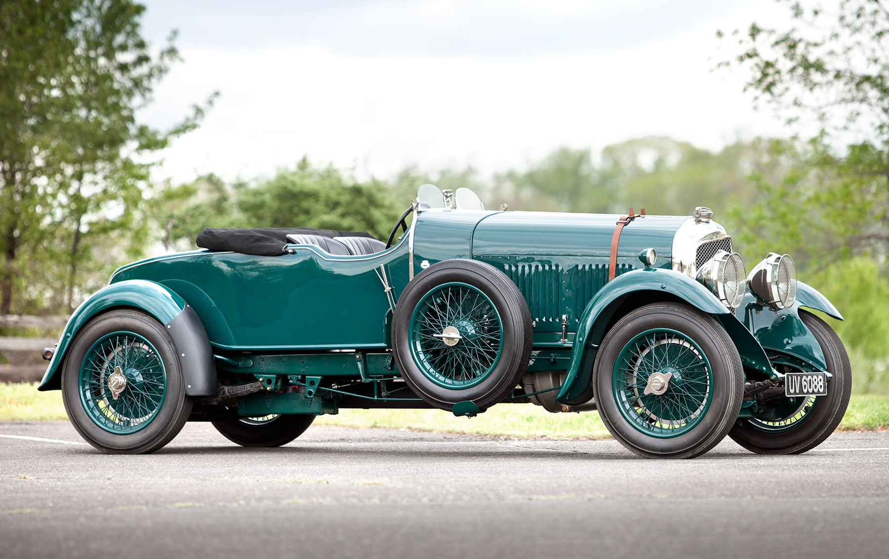 1929 Bentley 4 1/2 Litre Two-Seat Sports