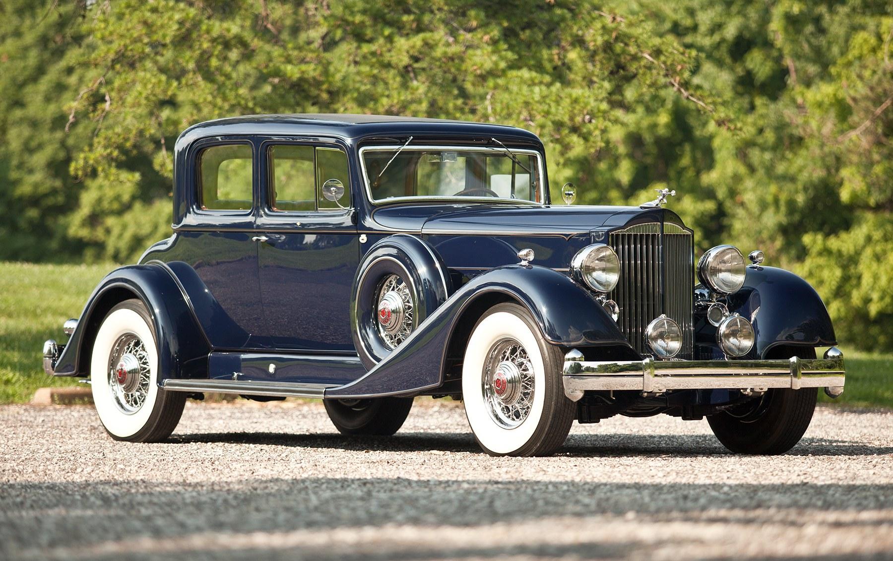 1934 Packard Twelve Model 1107 Victoria Coupe