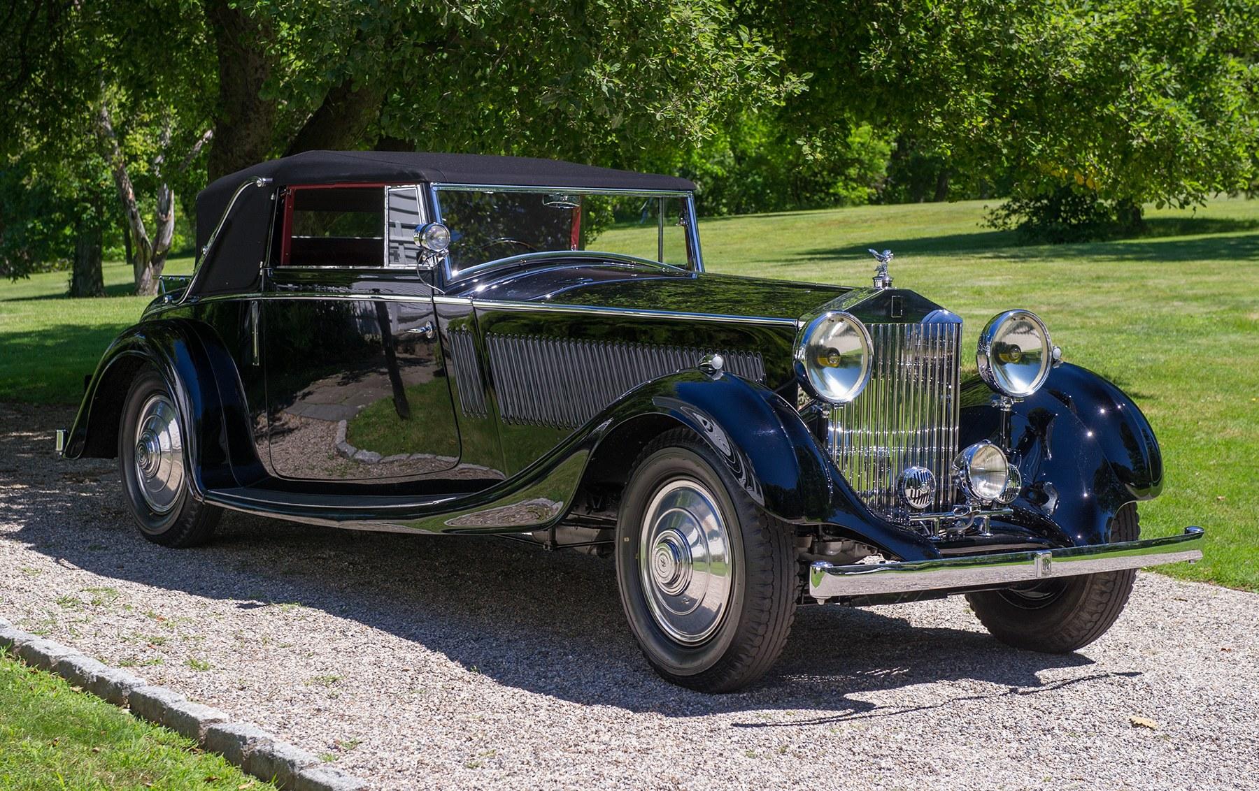 1935 Rolls-Royce Phantom ll Drop Head Coupe