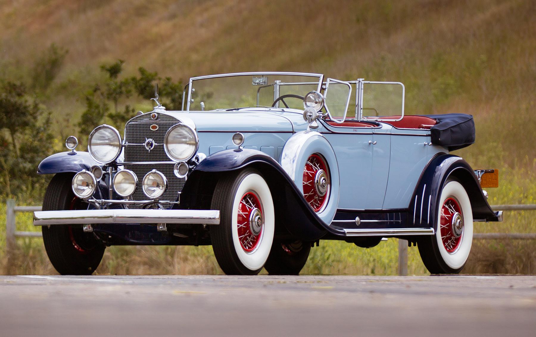 1931 Cadillac V-12 370-A Phaeton