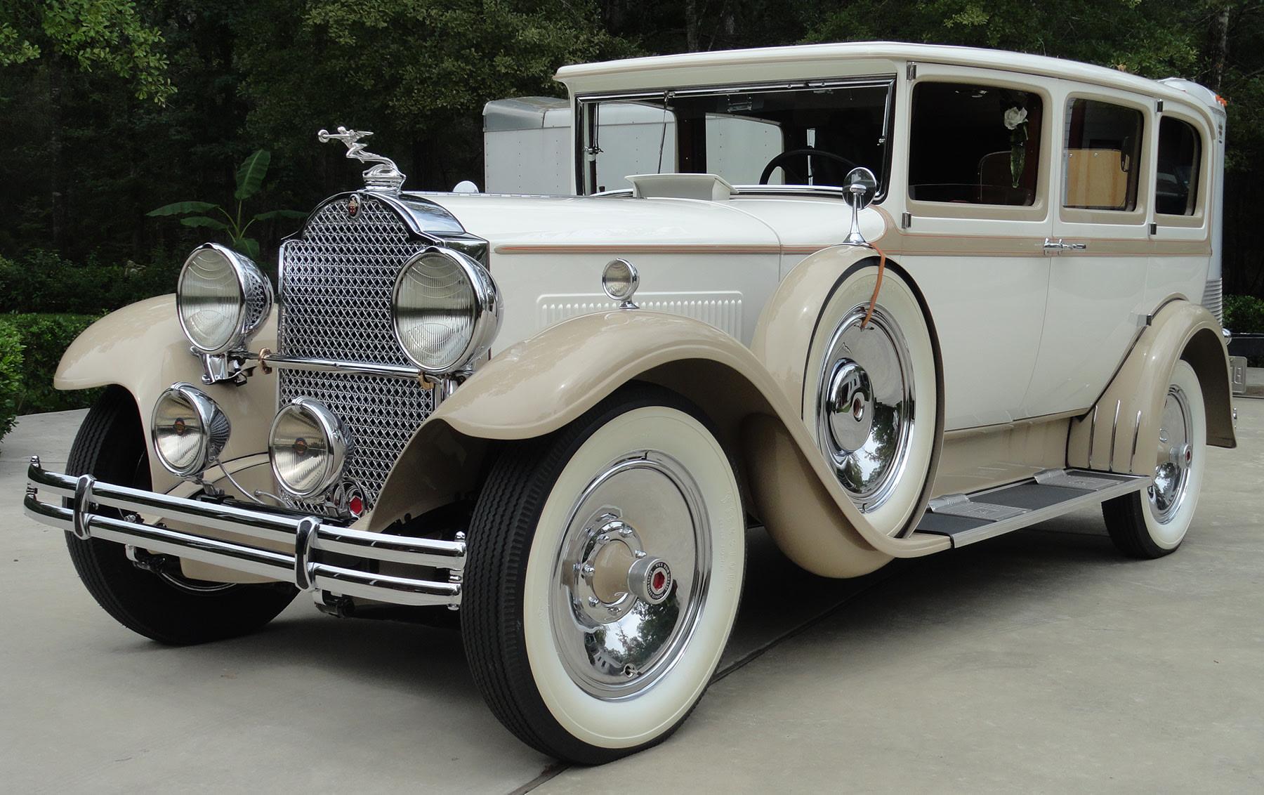 1930 Packard 733 Seven-Passenger Sedan