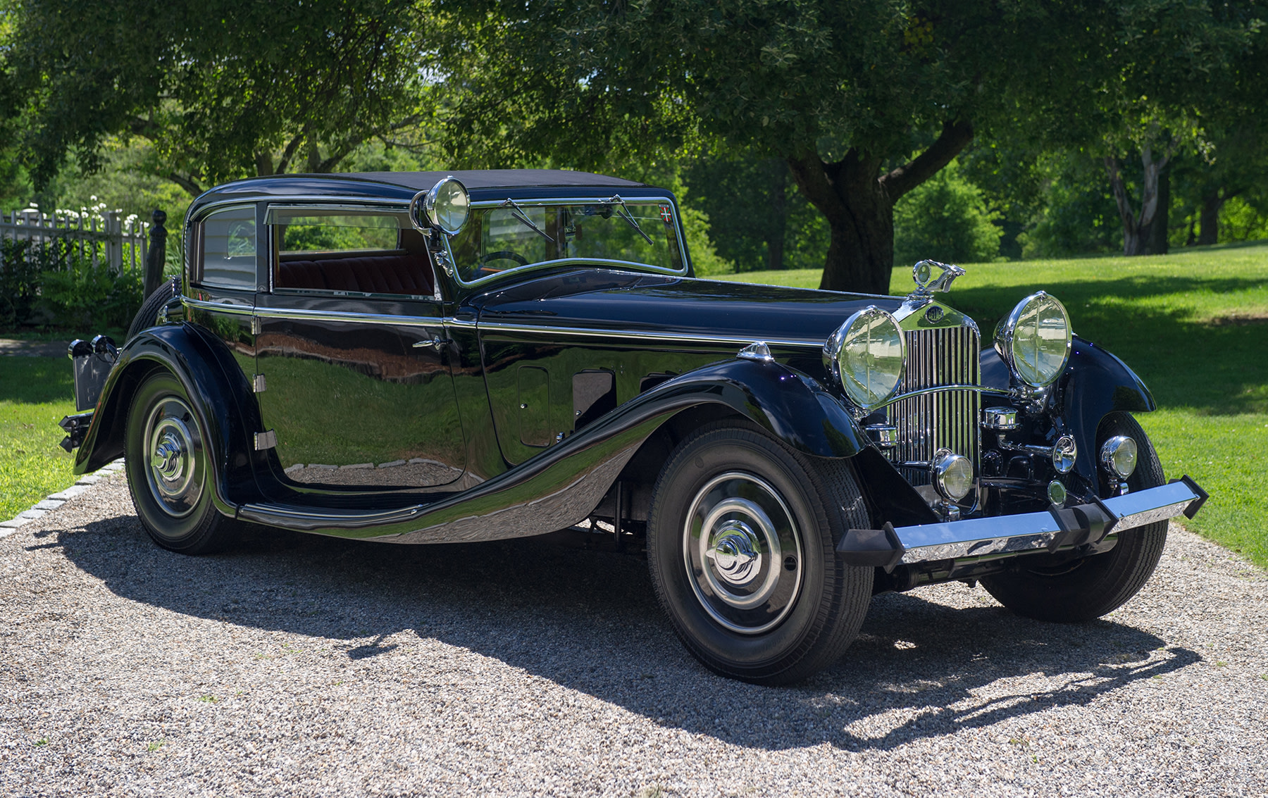 1933 Delage D8S Coupe