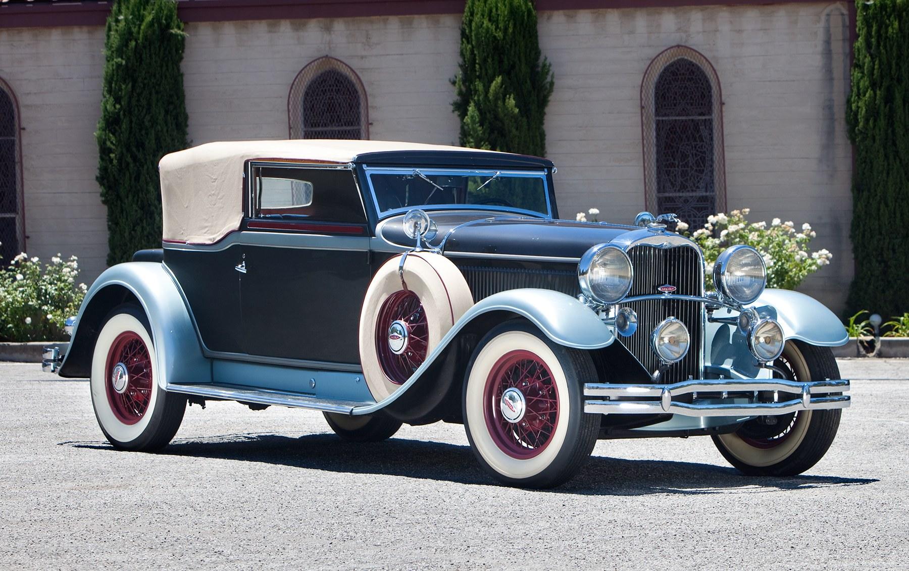 1931 Lincoln Model K Convertible Victoria